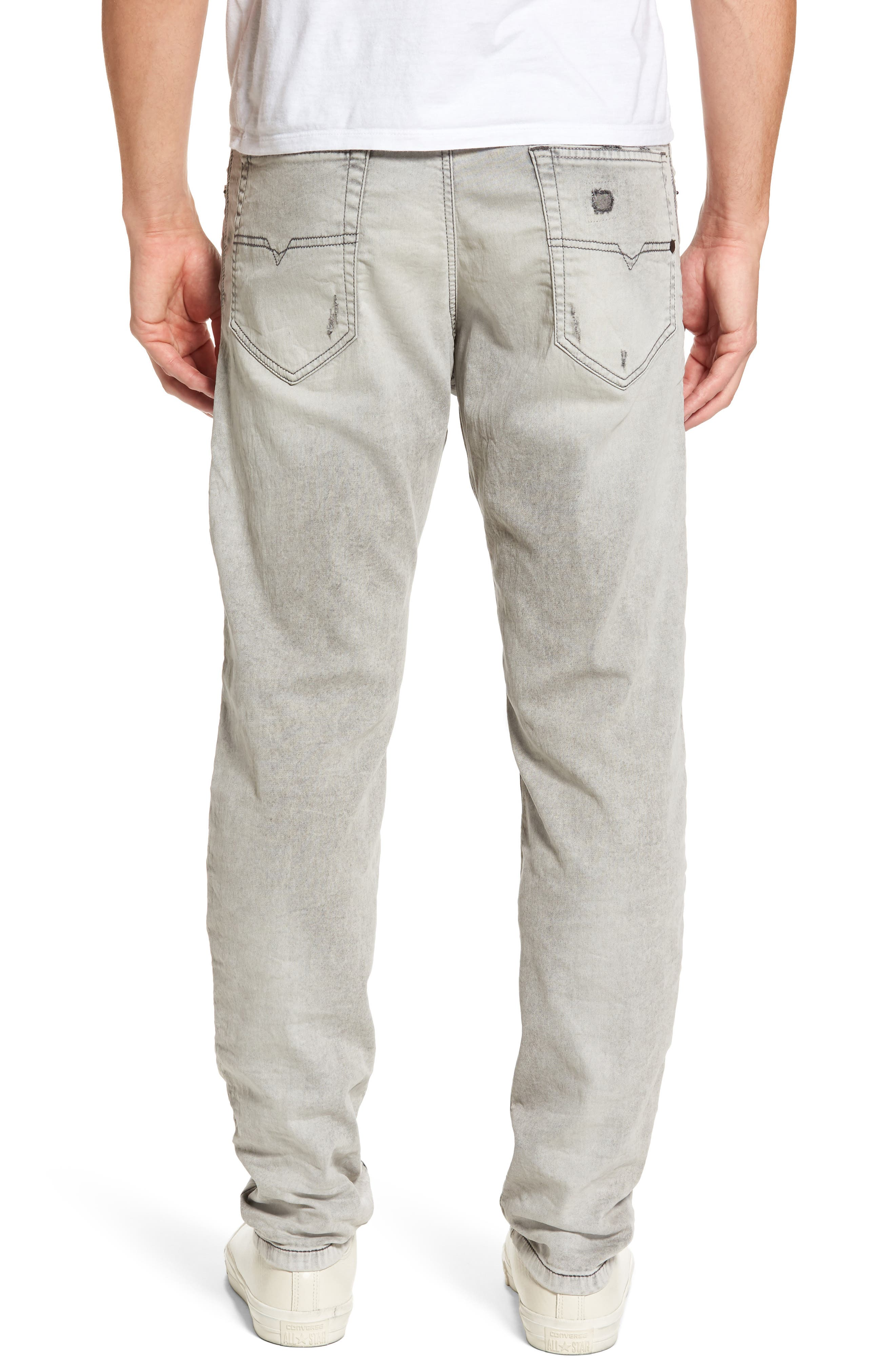 Narrot Slouchy Skinny Fit Jeans,                             Alternate thumbnail 2, color,                             008