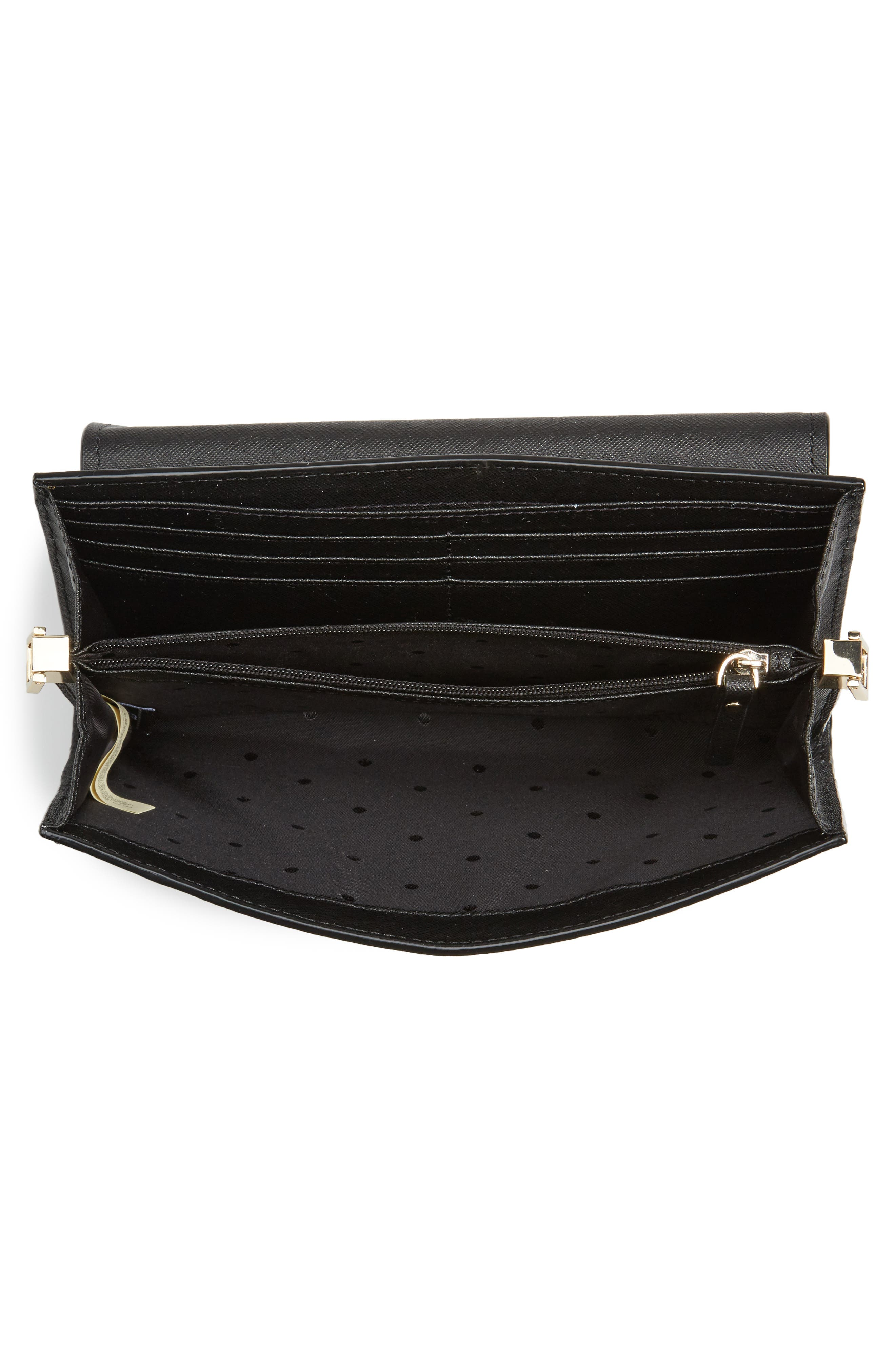 make it mine - camila leather clutch,                             Alternate thumbnail 7, color,