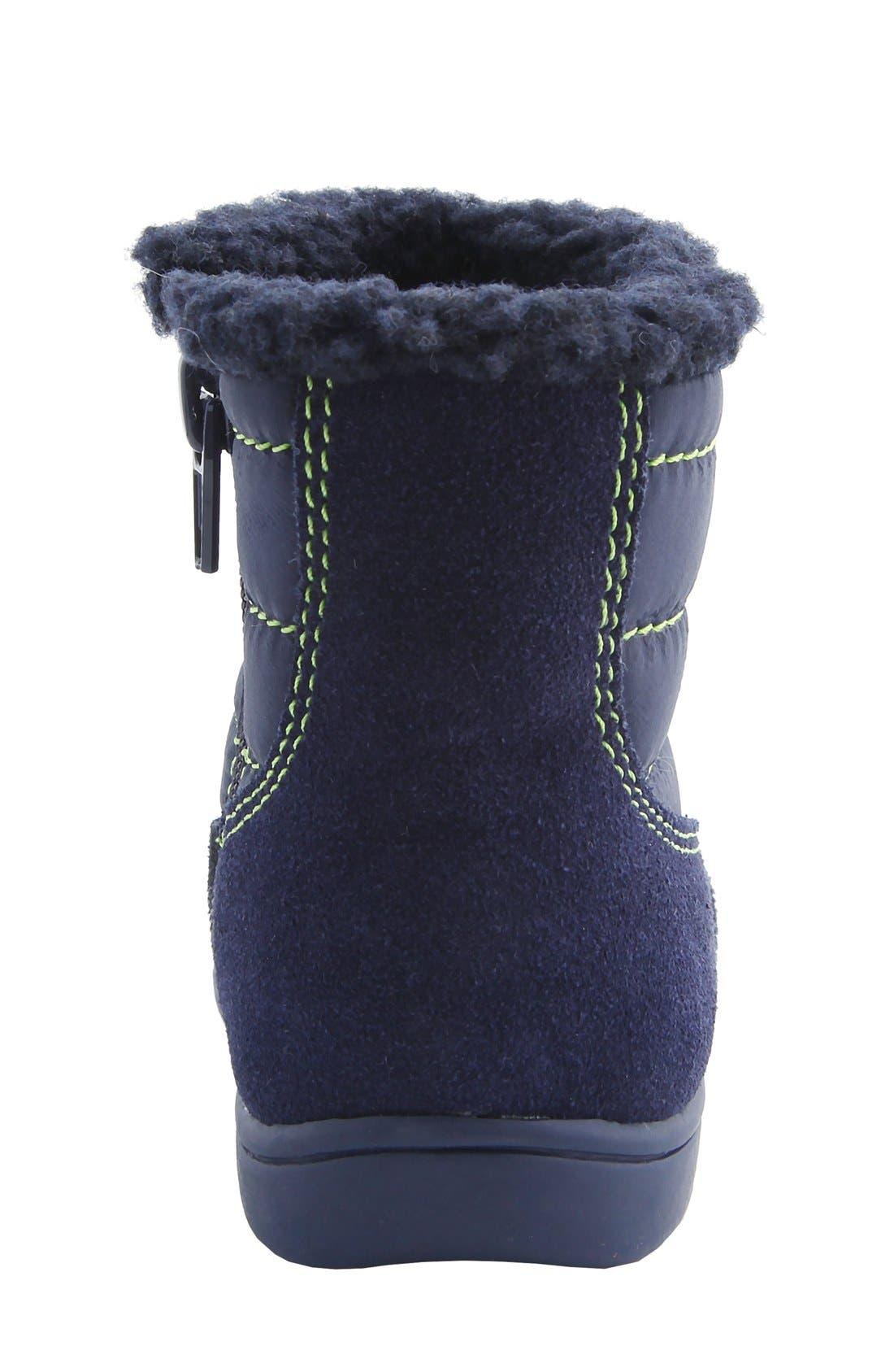 Nina 'Yolie' Lace-Up Boot,                             Alternate thumbnail 6, color,