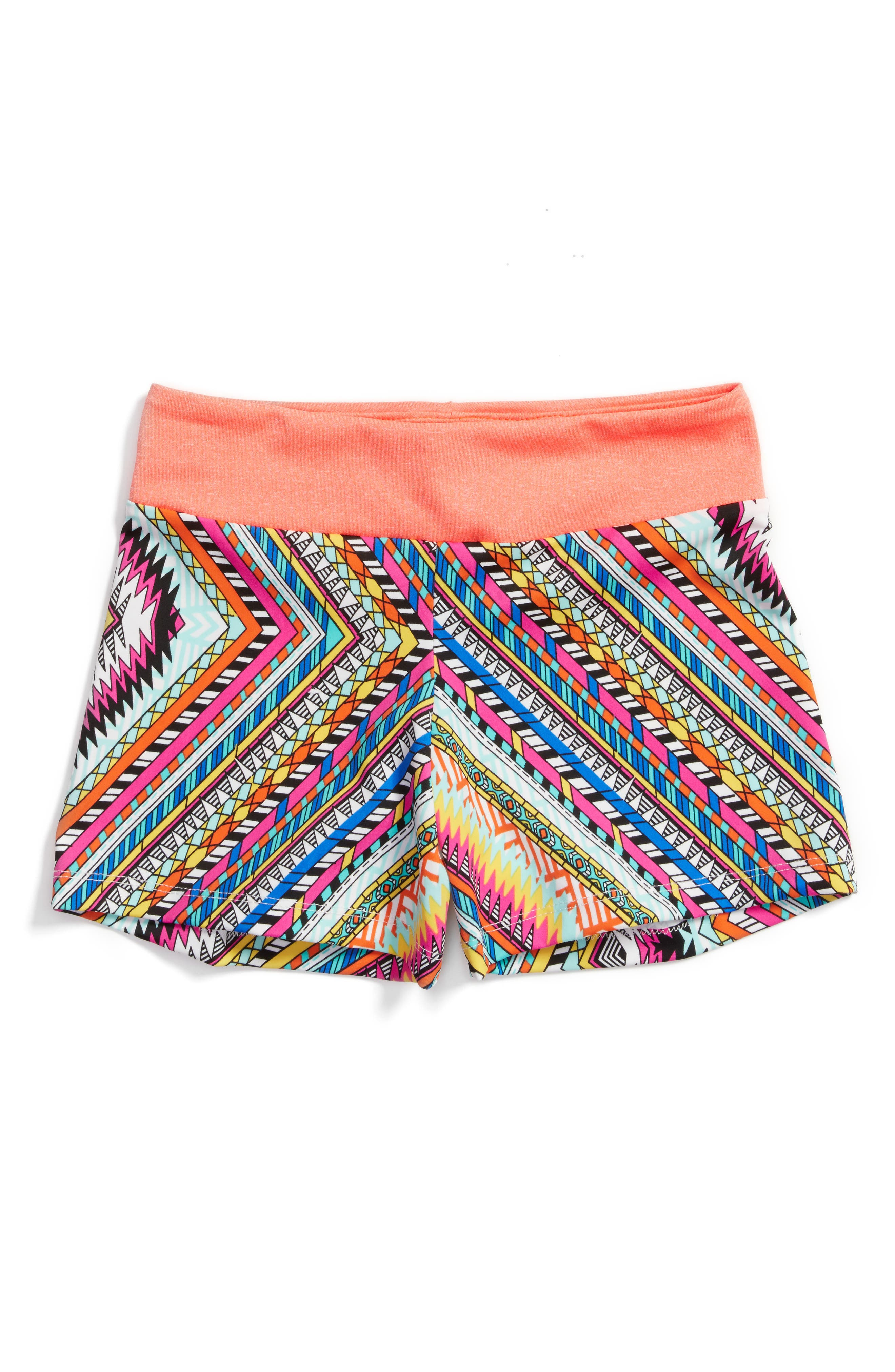 Zigzag Stretch Shorts,                             Main thumbnail 1, color,                             950