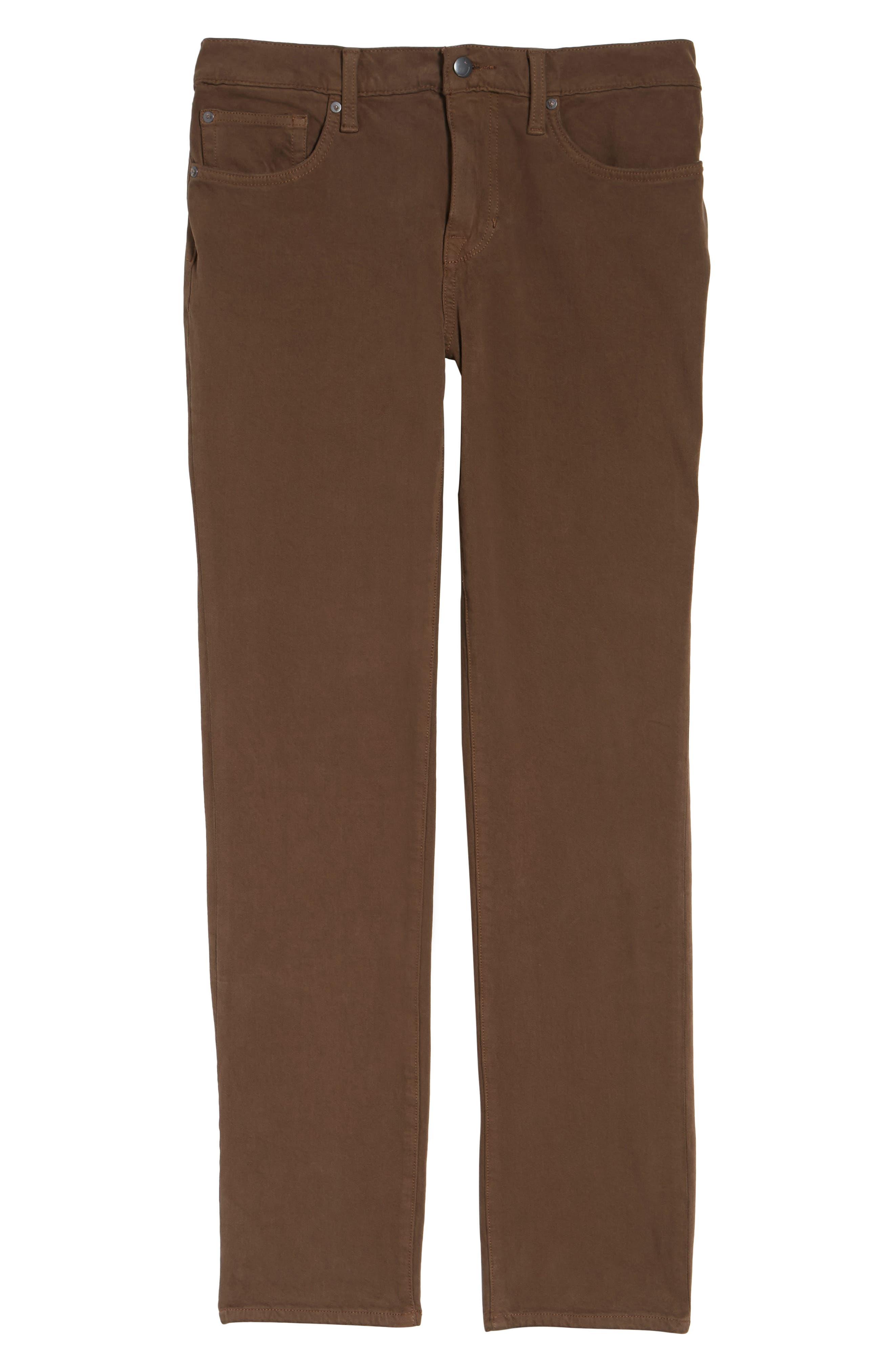 Brixton Slim Straight Fit Jeans,                             Alternate thumbnail 6, color,                             202