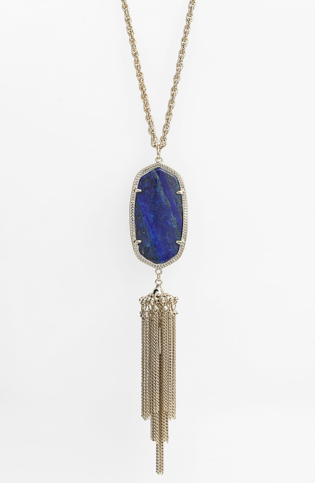 Rayne Stone Tassel Pendant Necklace,                             Alternate thumbnail 121, color,