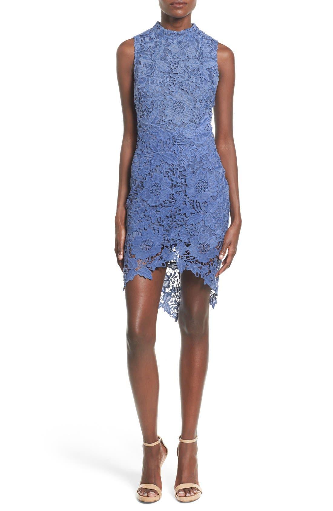 'Samantha' Lace Dress,                             Main thumbnail 4, color,
