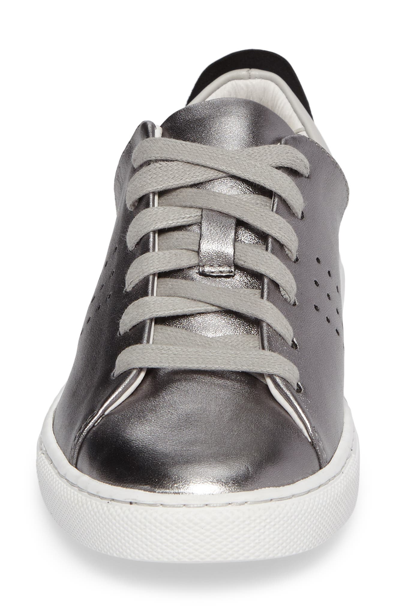 Splits Two-Tone Perforated Sneaker,                             Alternate thumbnail 4, color,                             045