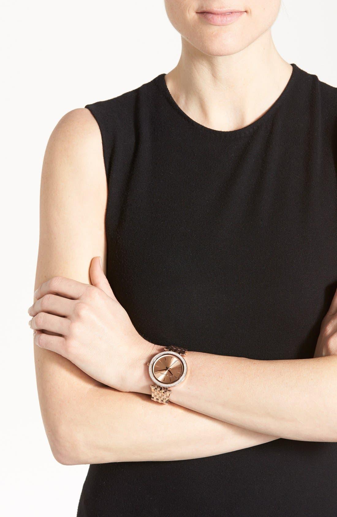 'Darci' Round Bracelet Watch, 39mm,                             Alternate thumbnail 52, color,