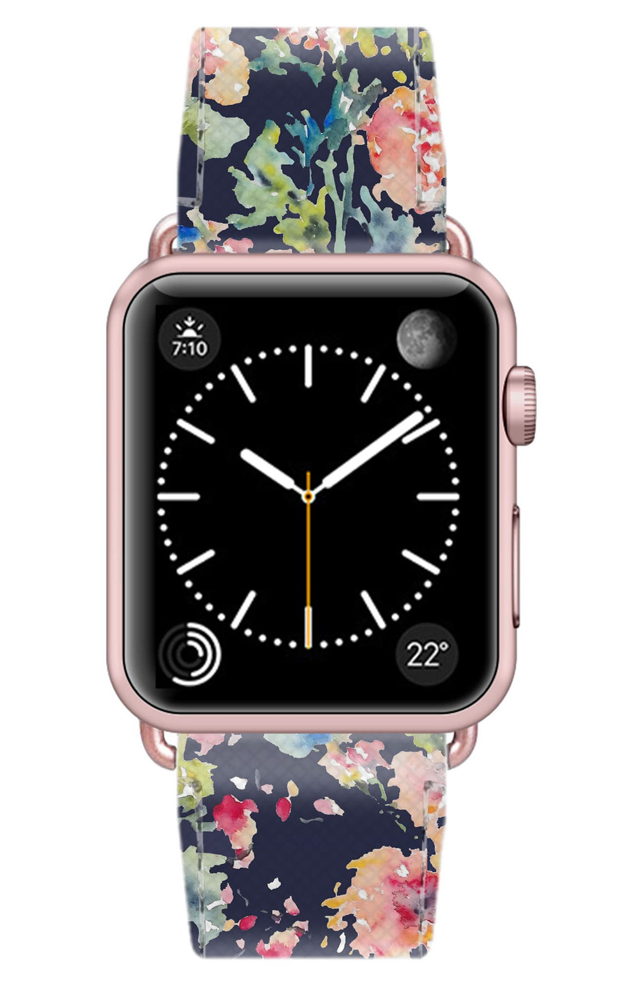 Saffiano Faux Leather Apple Watch Strap,                             Alternate thumbnail 31, color,
