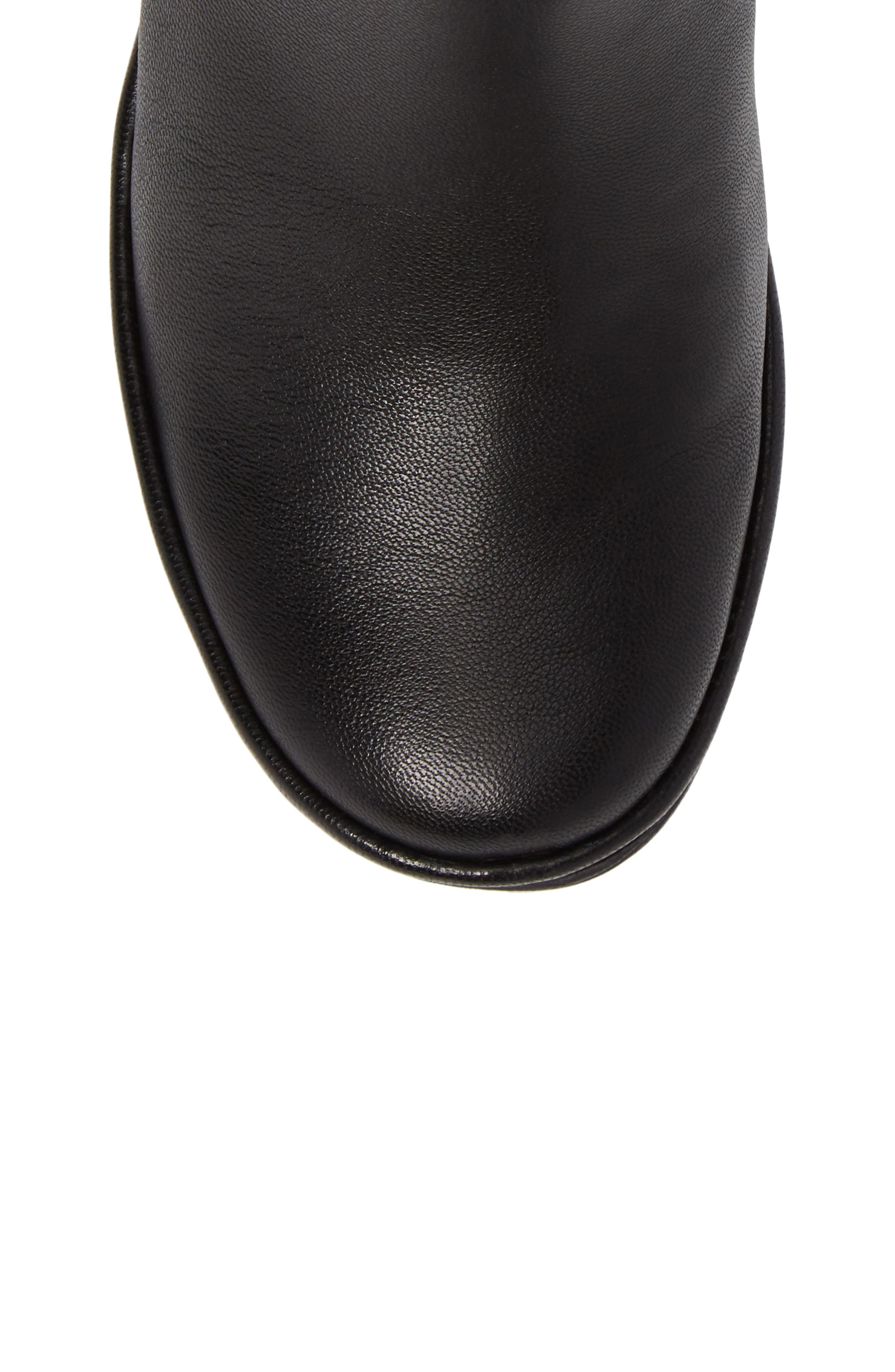 Yoss Wedge Bootie,                             Alternate thumbnail 5, color,                             001