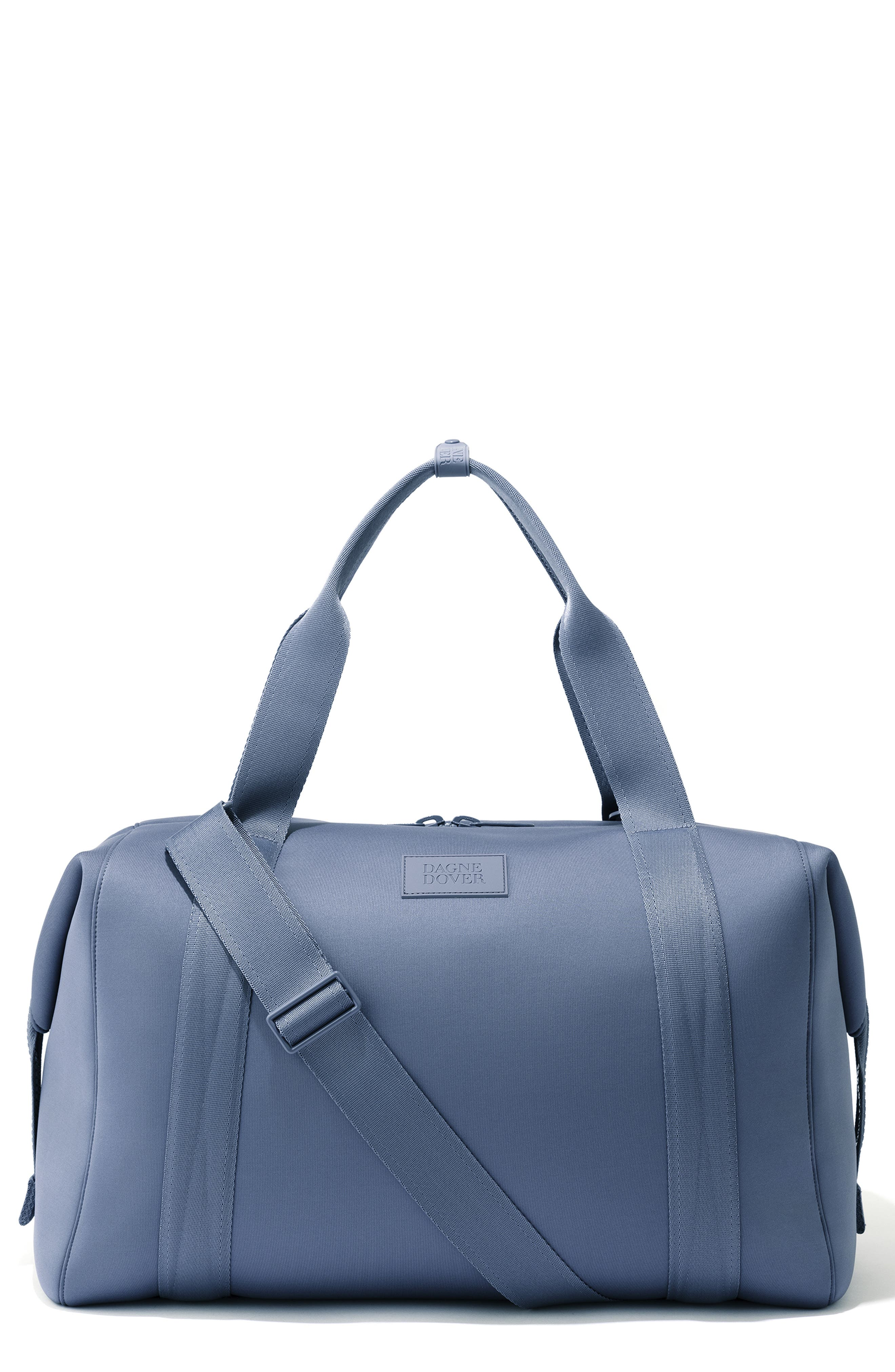 DAGNE DOVER Xl Landon Carryall Duffel Bag - Blue in Storm