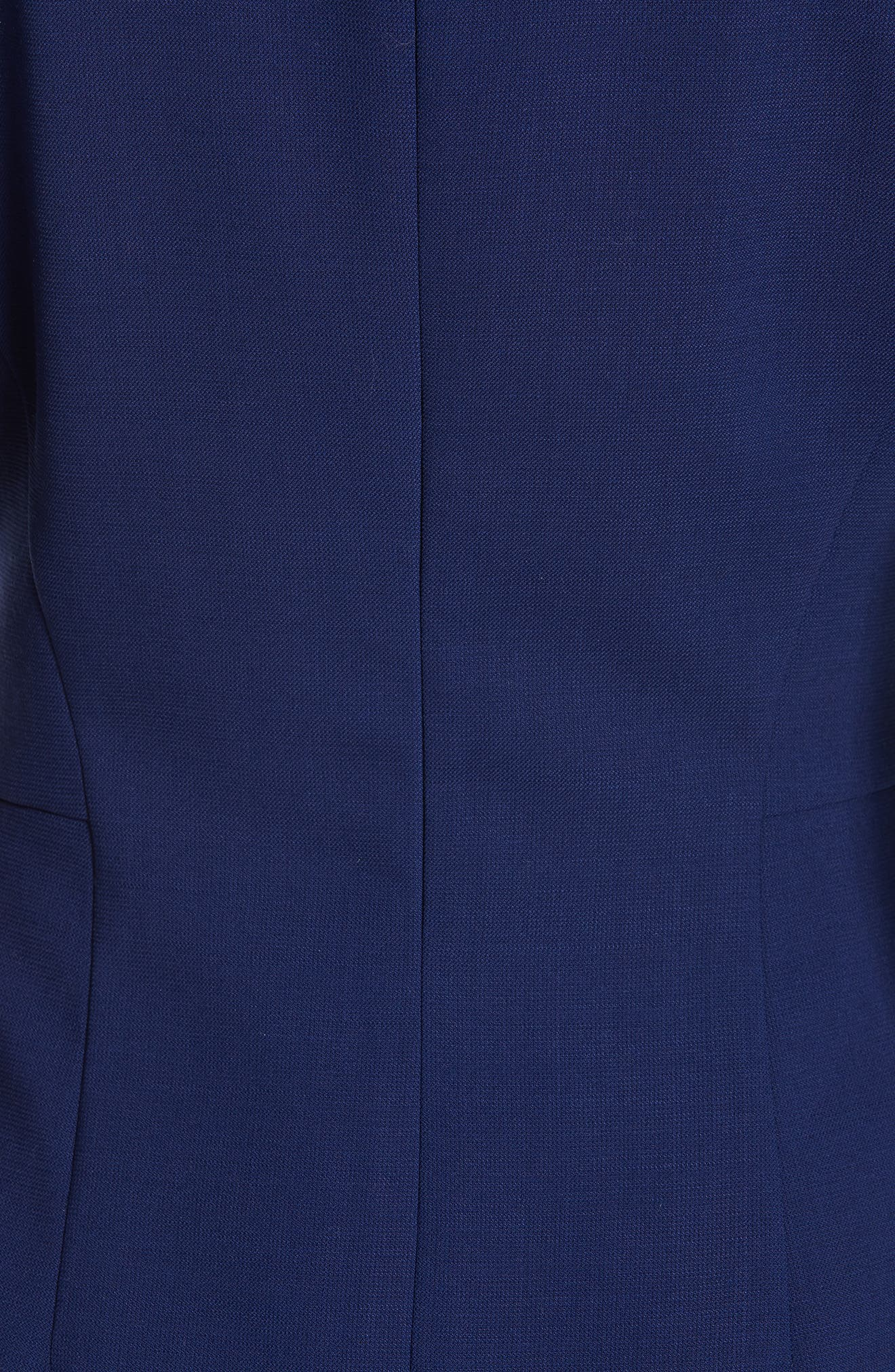 Danufa Stretch Wool Sheath Dress,                             Alternate thumbnail 6, color,                             INK BLUE