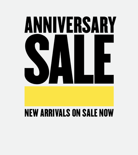 Anniversary Sale—new arrivals on sale now. Prices go up August 5.