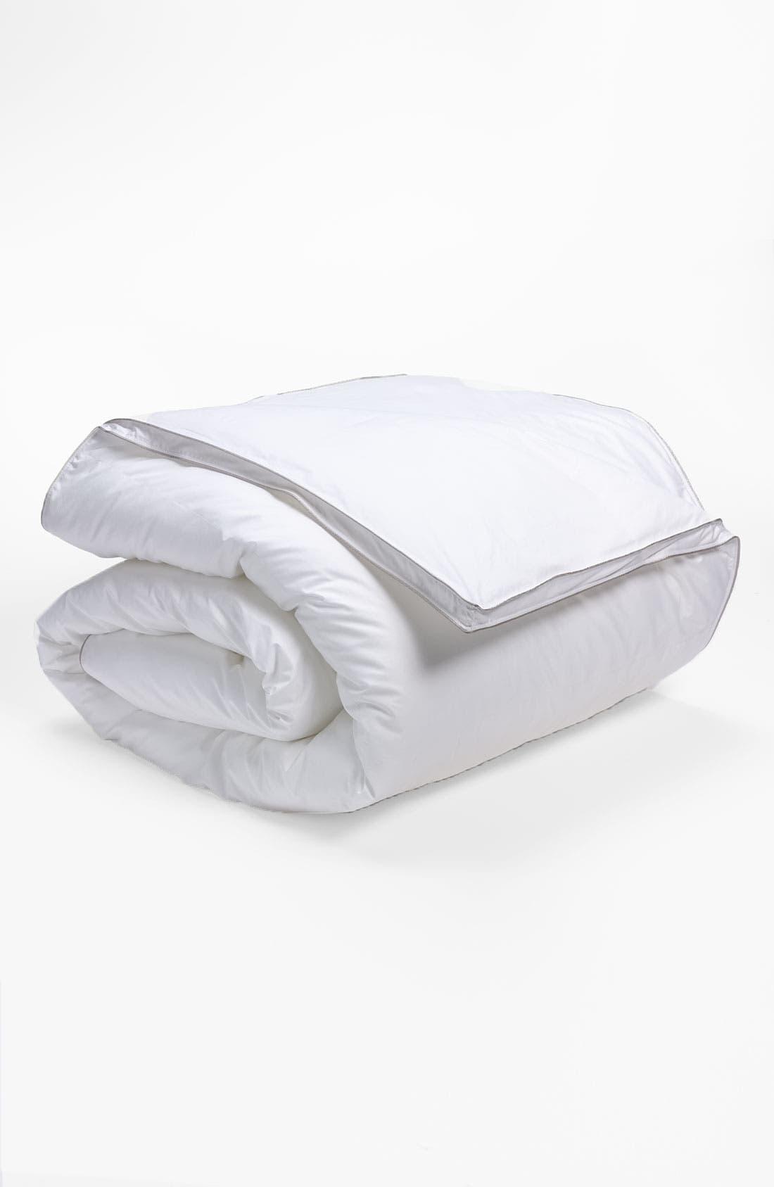 Down Alternative Comforter, Main, color, WHITE