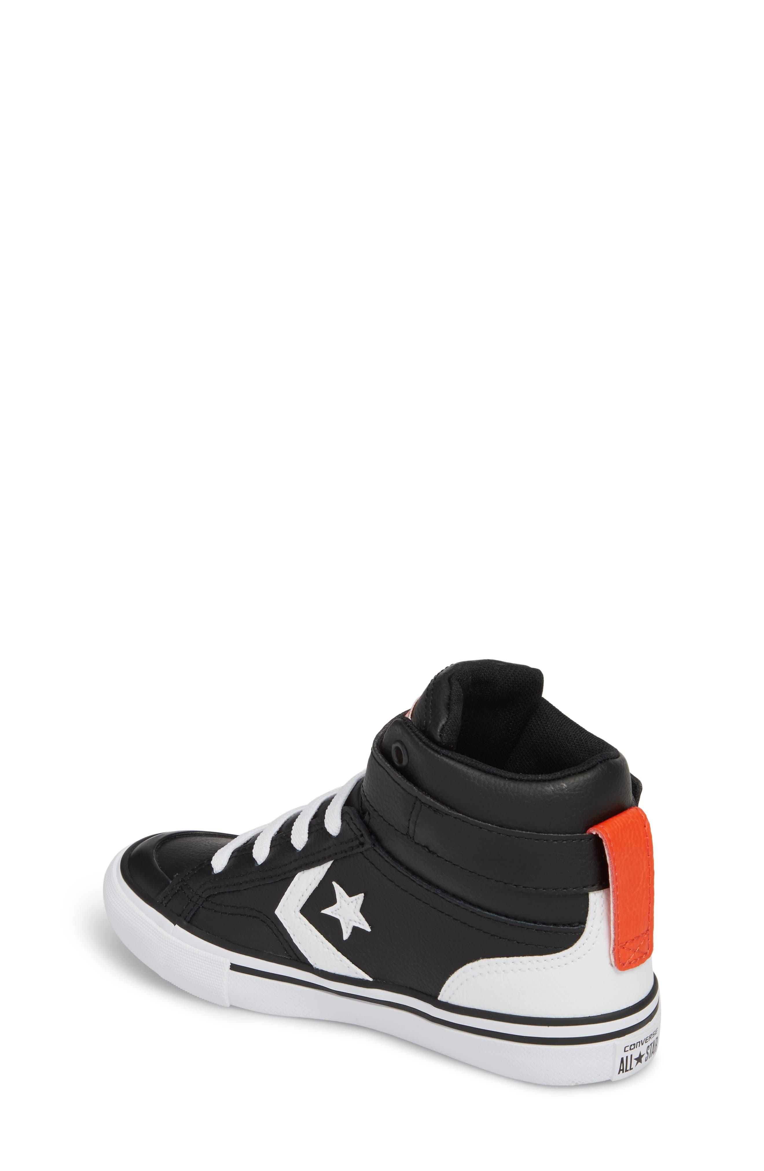 Pro Blaze High Top Sneaker,                             Alternate thumbnail 2, color,                             001