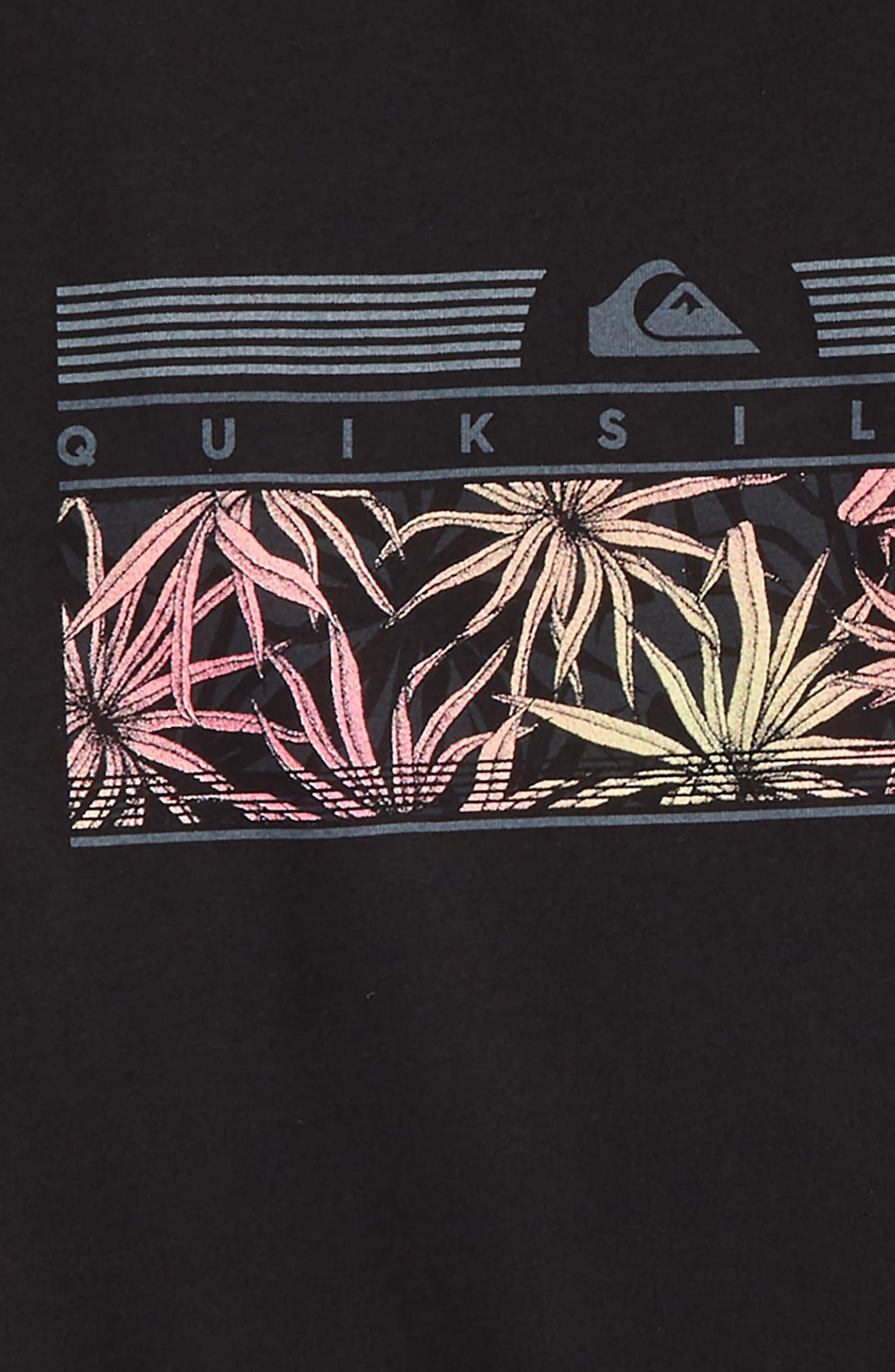 The Jungle Graphic T-Shirt,                             Alternate thumbnail 2, color,                             BLACK