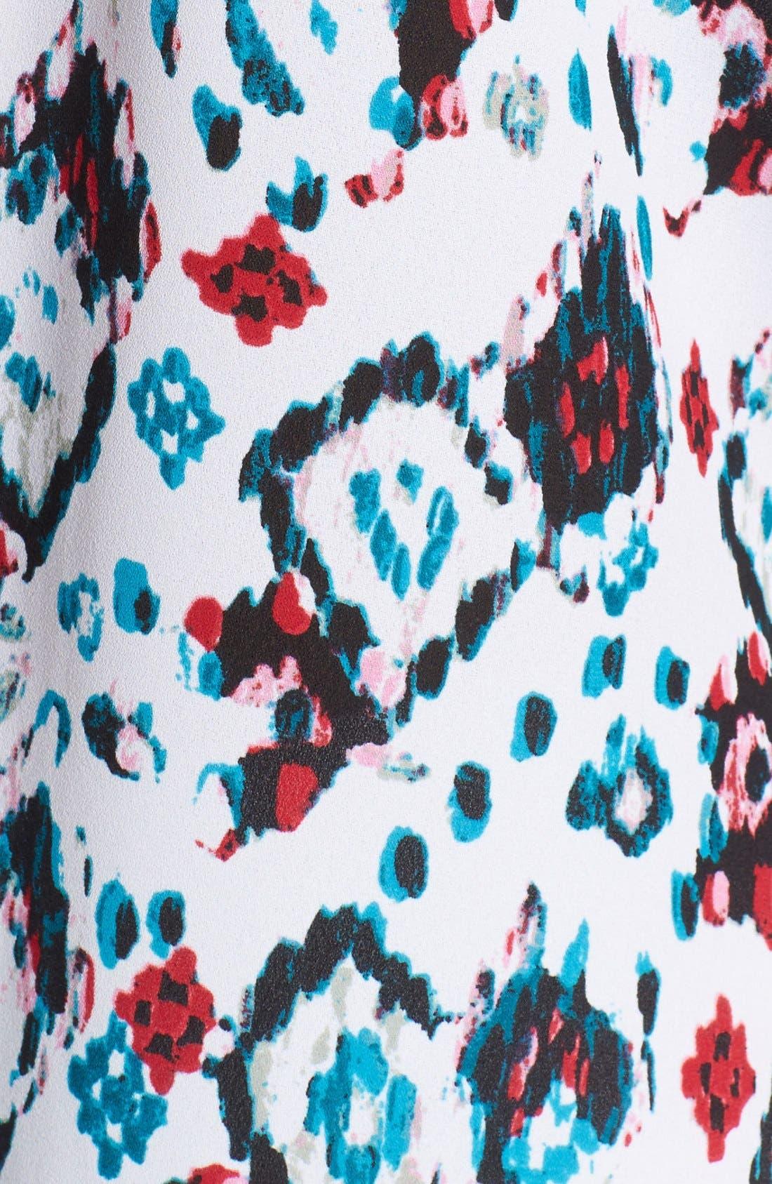 Pleat Back Sleeveless Split Neck Blouse,                             Alternate thumbnail 232, color,