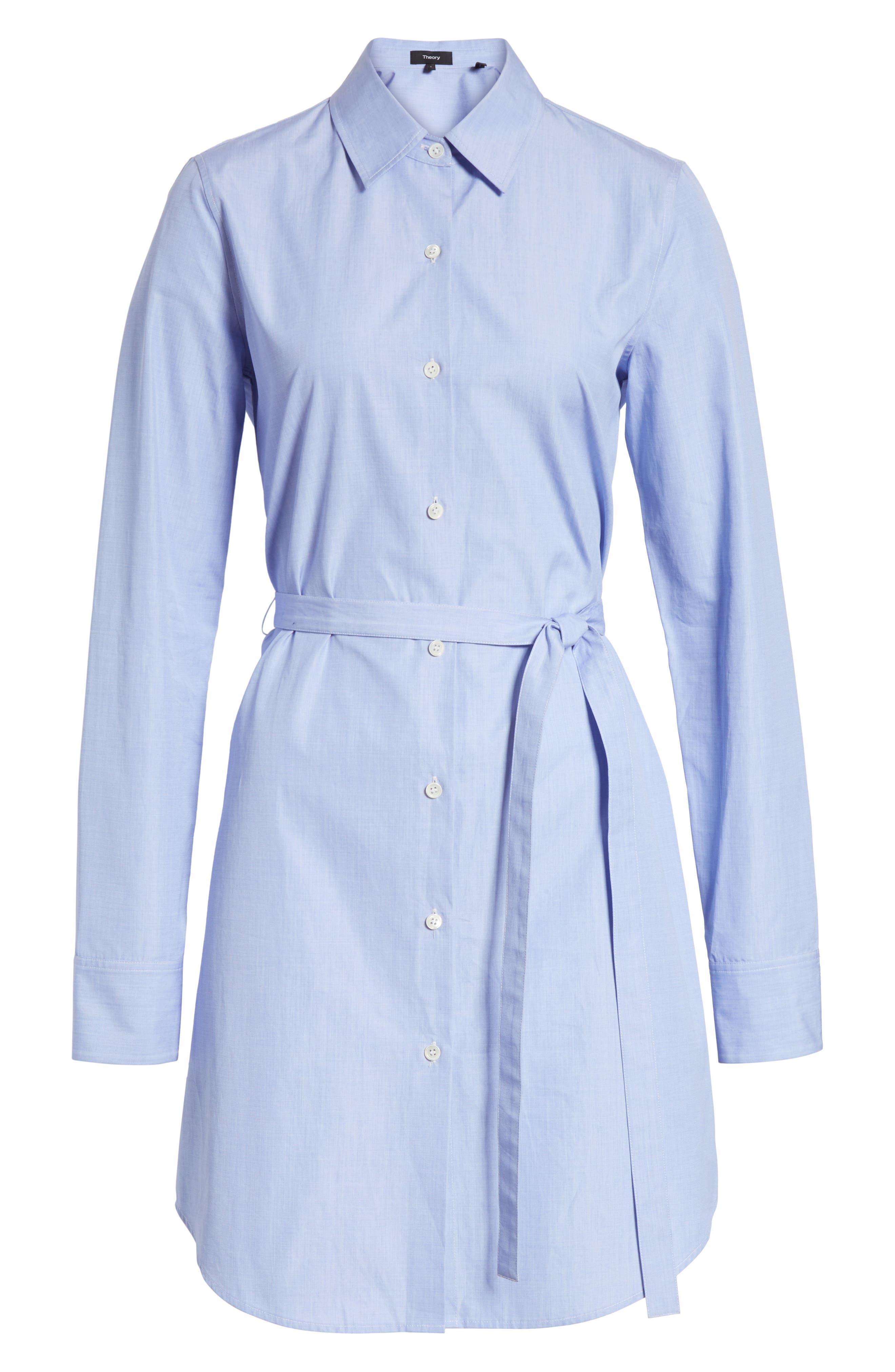 Crowley Cotton Shirtdress,                             Alternate thumbnail 6, color,                             473