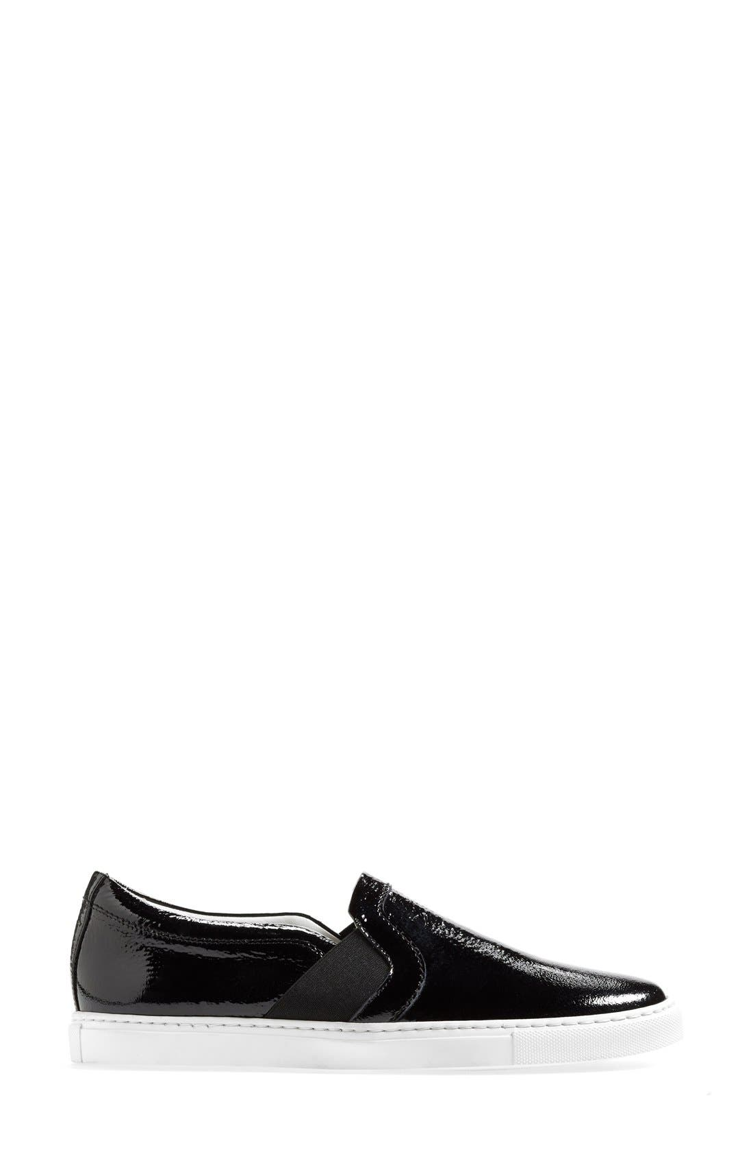 Patent Leather Skate Sneaker,                             Alternate thumbnail 3, color,
