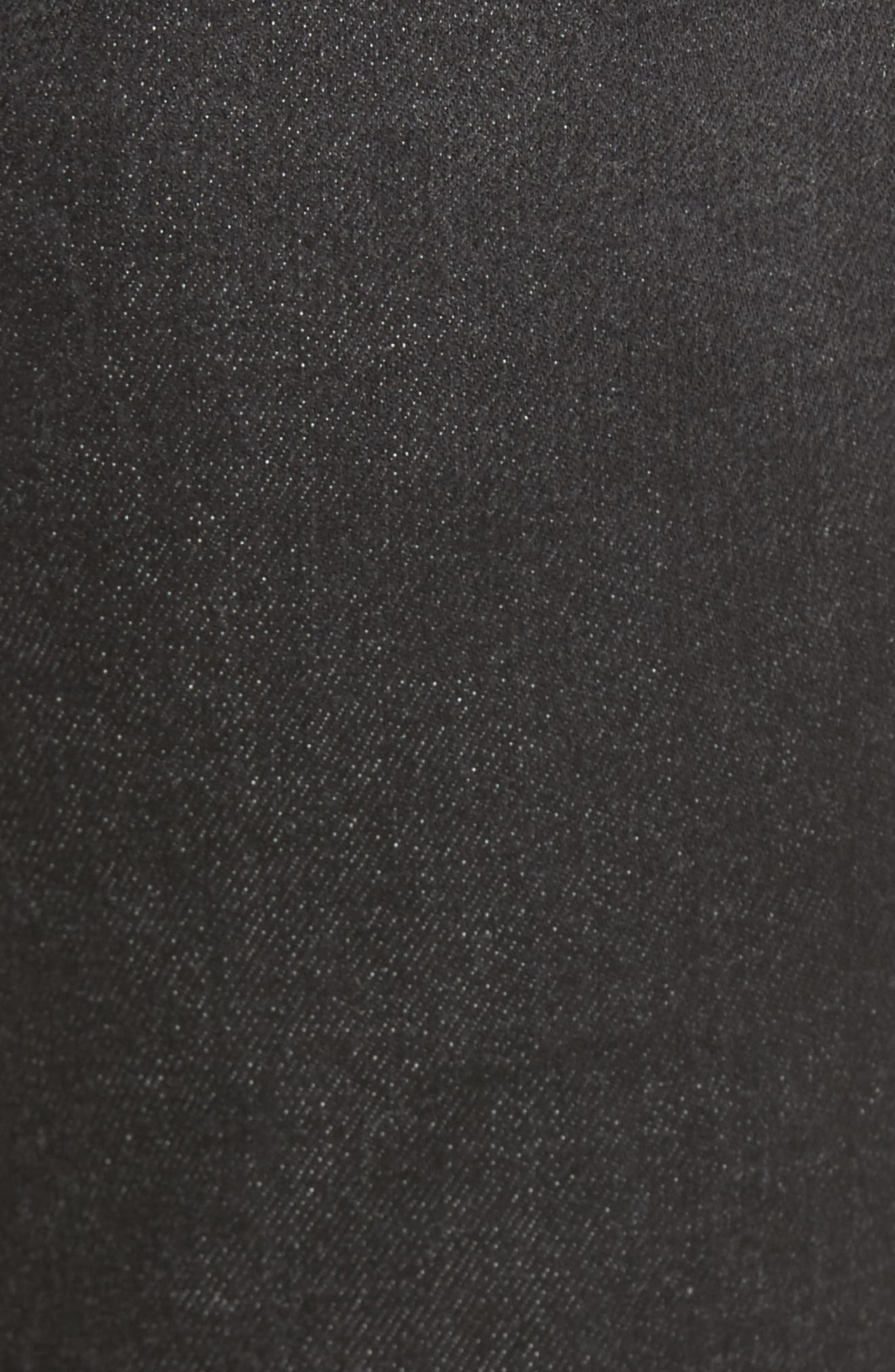 Ripped Skinny Jeans,                             Alternate thumbnail 5, color,                             001
