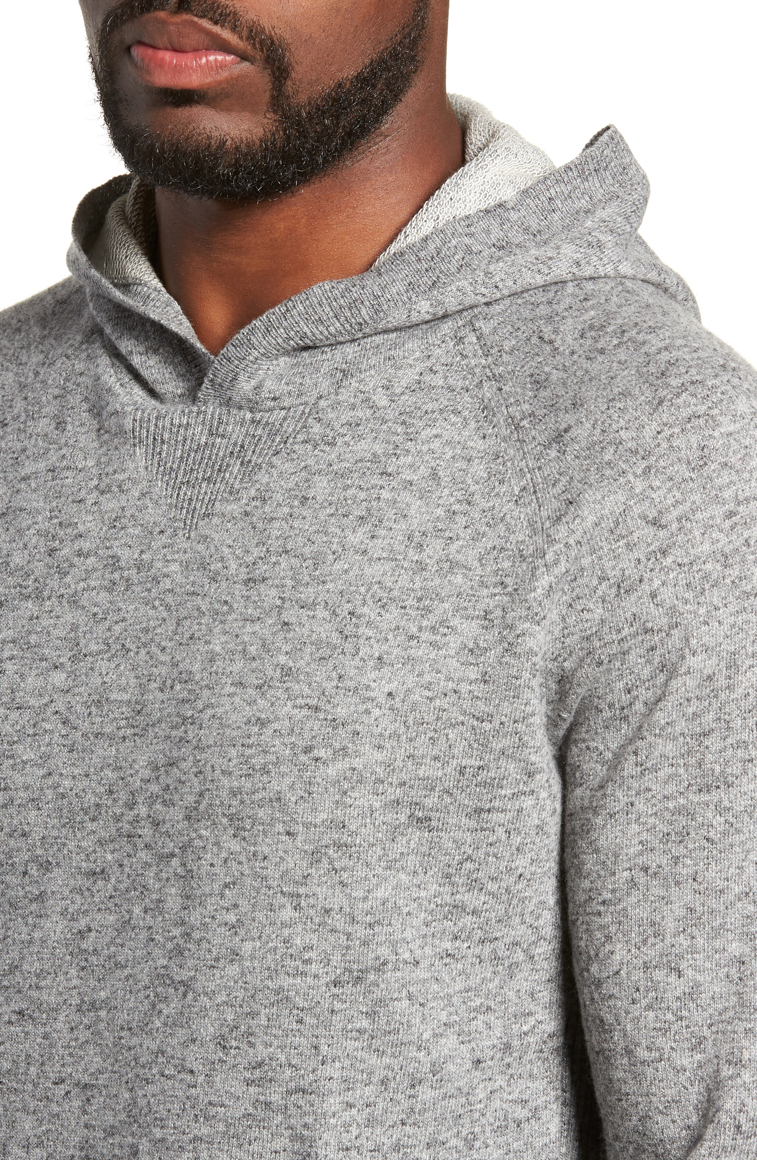 Hooded Sweater,                             Alternate thumbnail 4, color,                             060