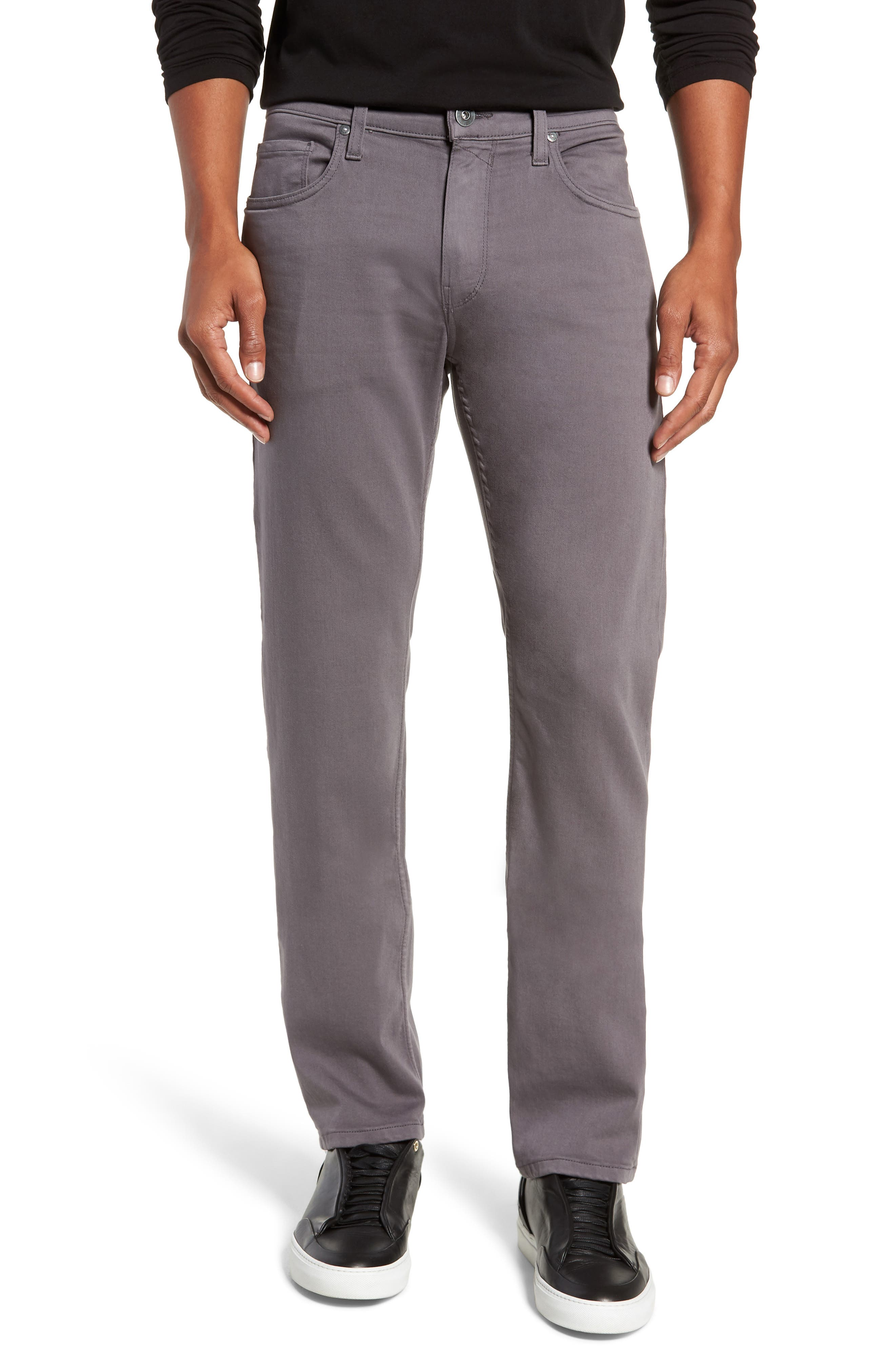 Transcend - Federal Slim Straight Leg Jeans,                             Main thumbnail 1, color,                             030