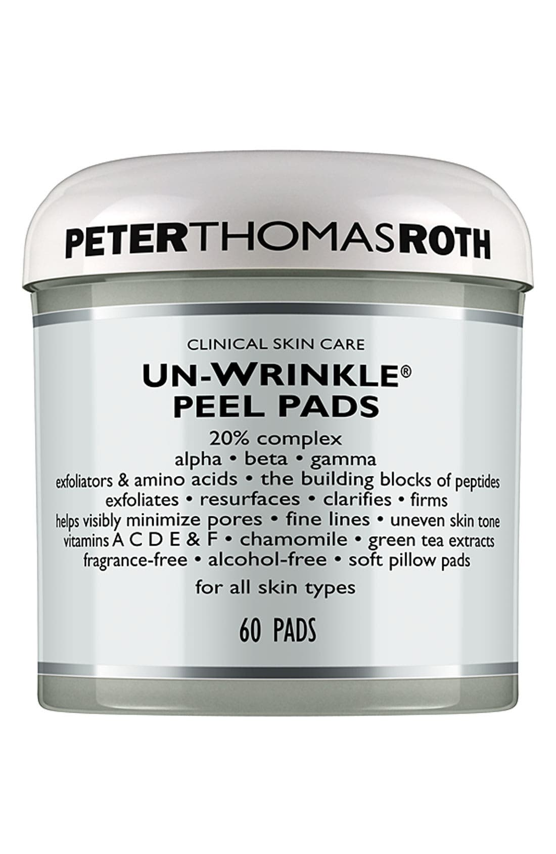 Un-Wrinkle<sup>®</sup> Peel Pads,                             Main thumbnail 1, color,                             NO COLOR