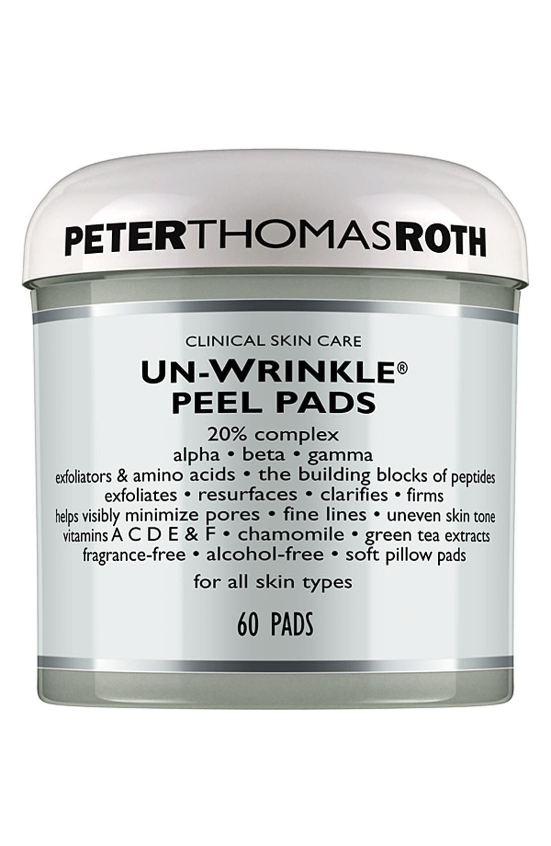 Un-Wrinkle<sup>®</sup> Peel Pads,                         Main,                         color, NO COLOR