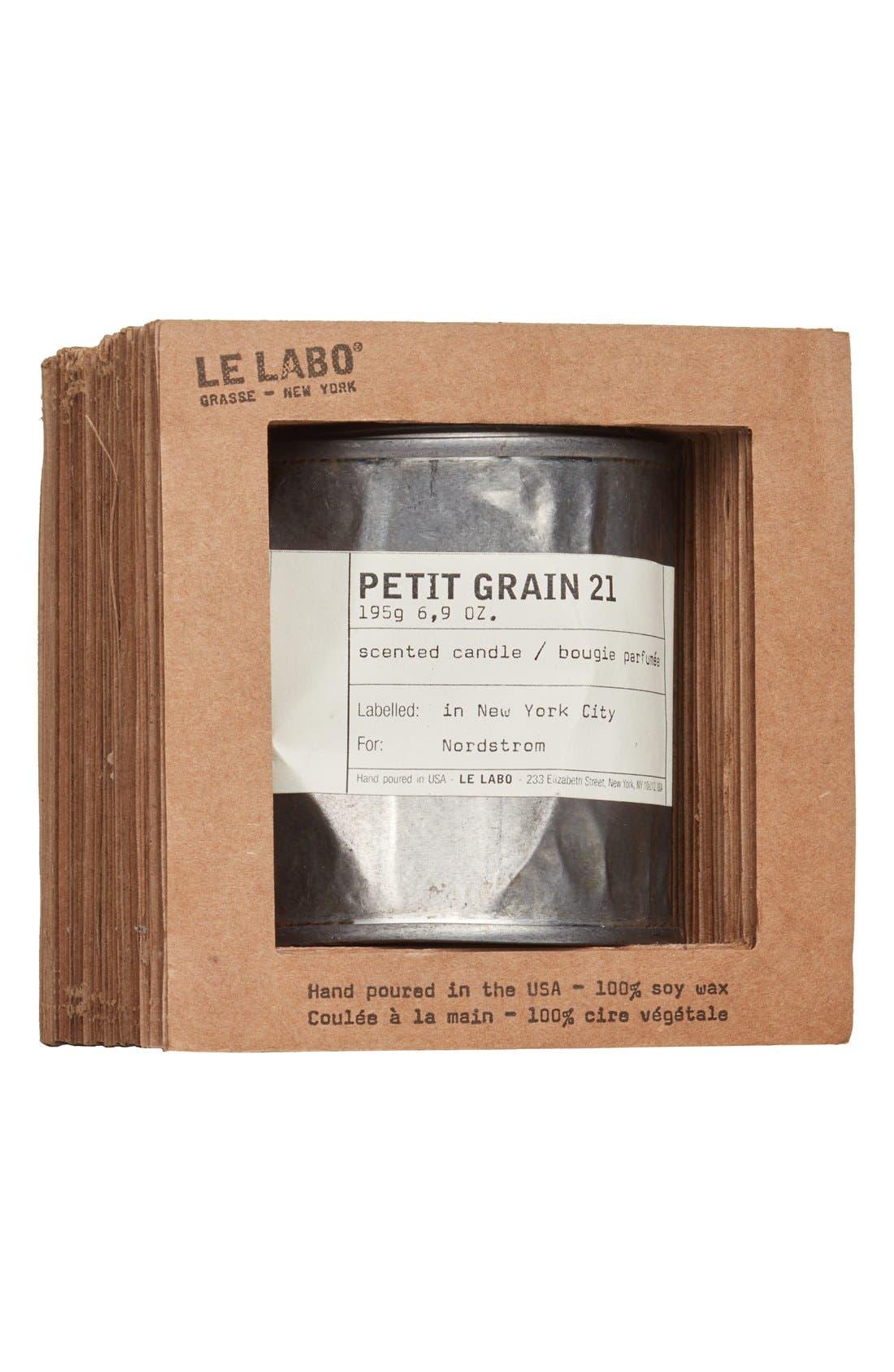 'Petit Grain 21' Vintage Tin Candle,                             Alternate thumbnail 3, color,                             NO COLOR