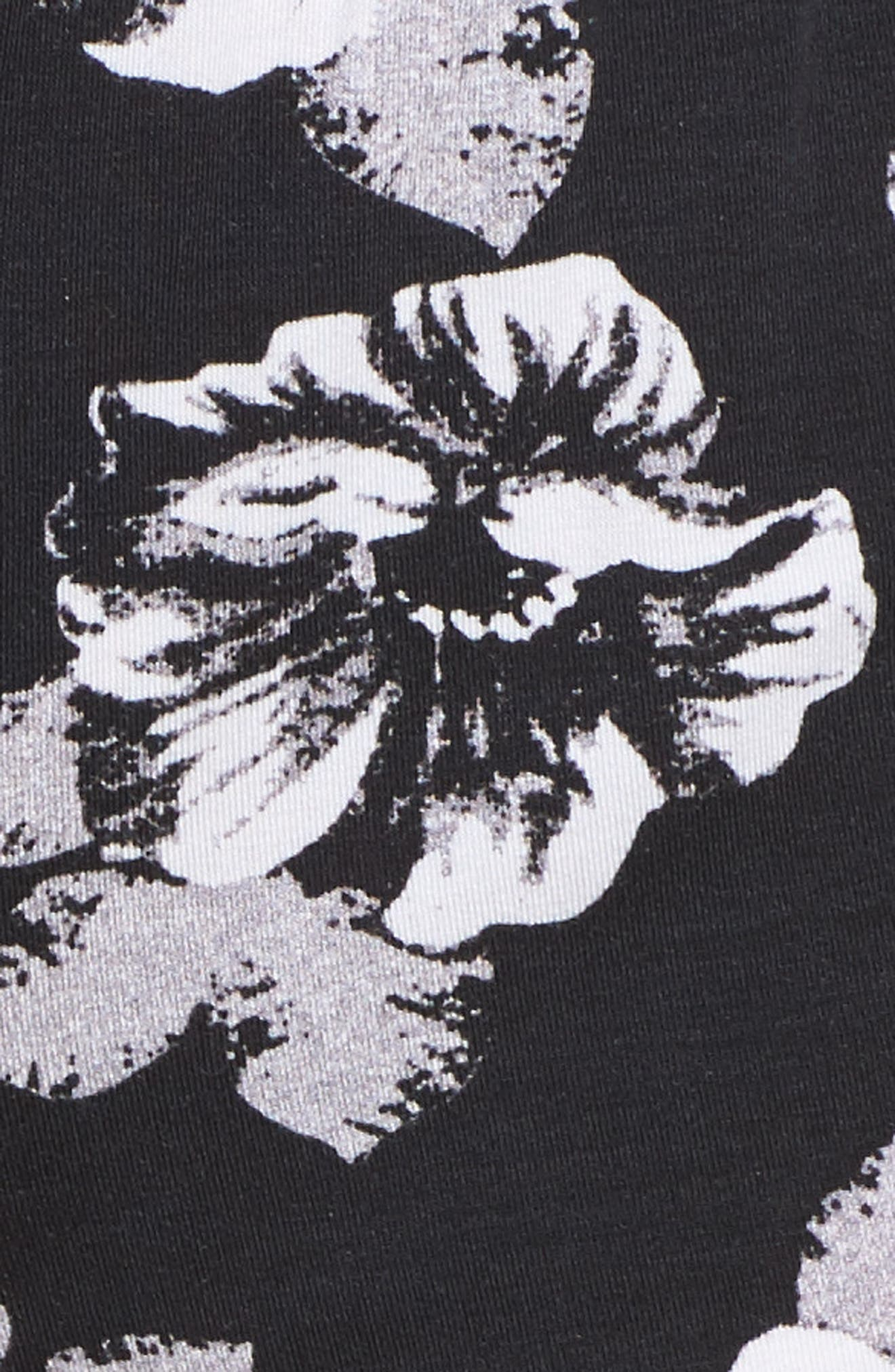 Floral Lounge Shorts,                             Alternate thumbnail 5, color,