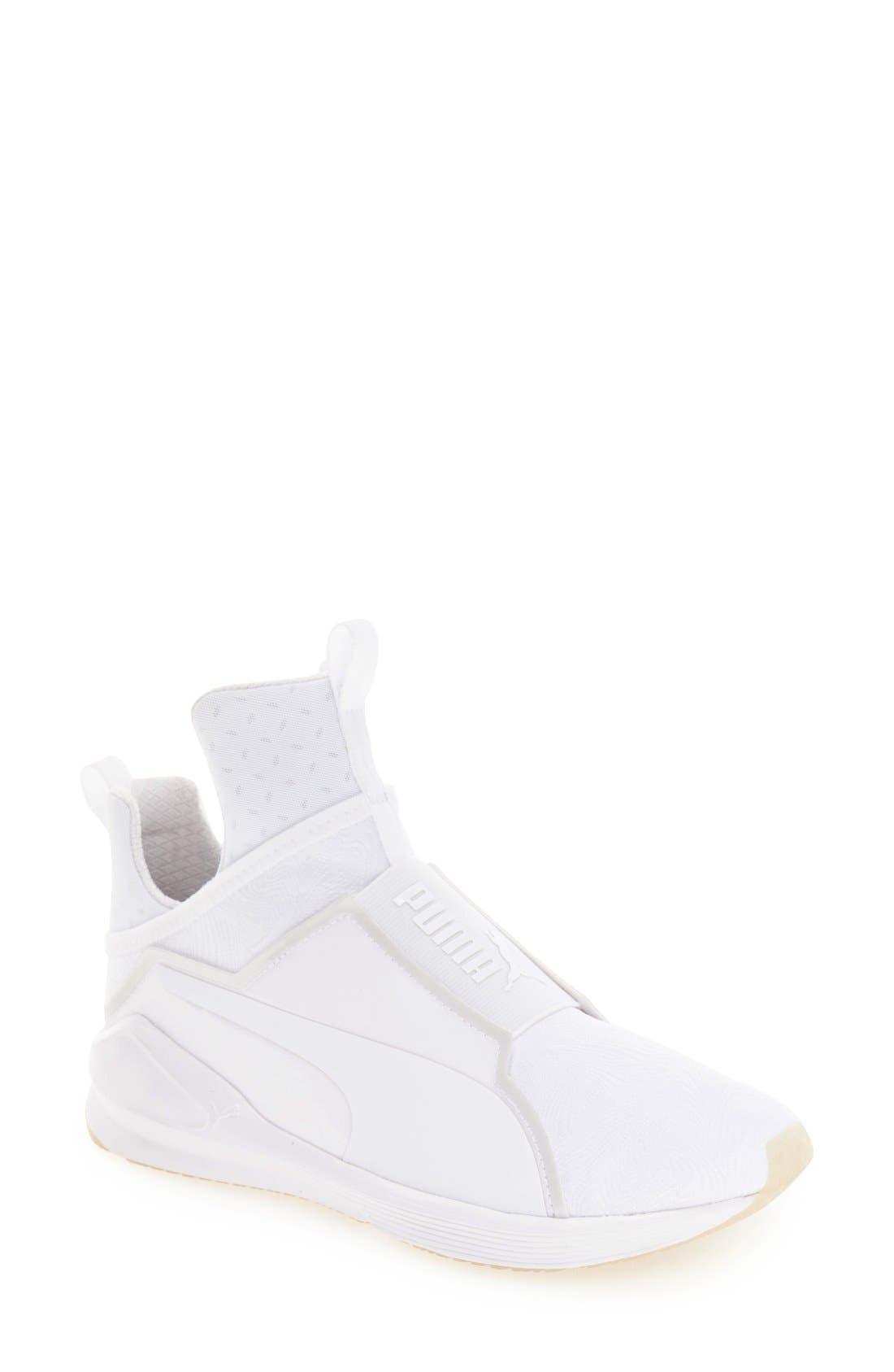 PUMA,                             'Fierce Bright' Sneaker,                             Main thumbnail 1, color,                             100