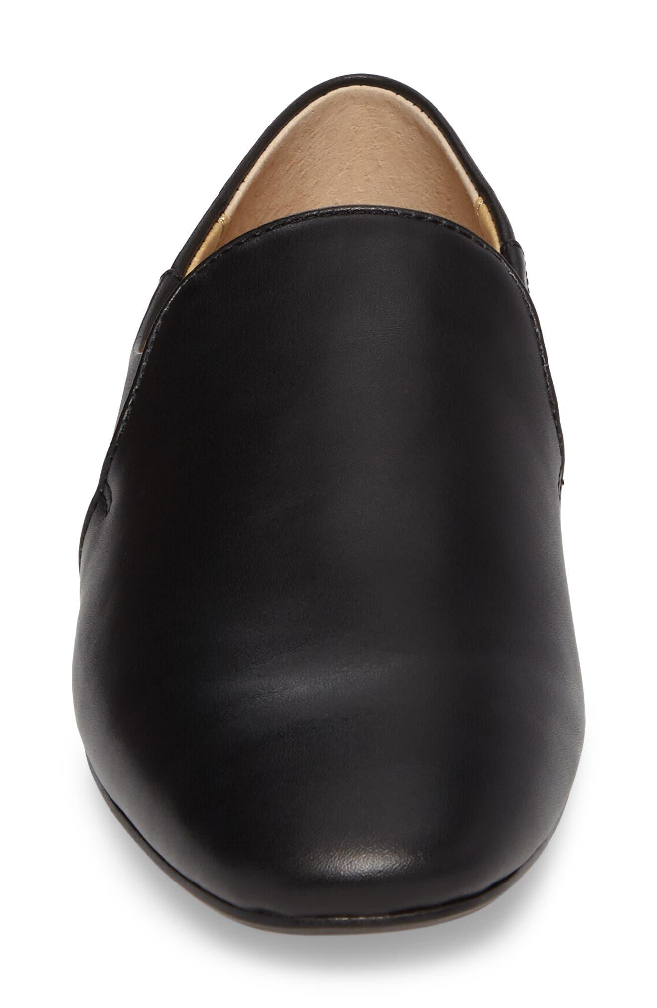 Derby Loafer Flat,                             Alternate thumbnail 4, color,                             002