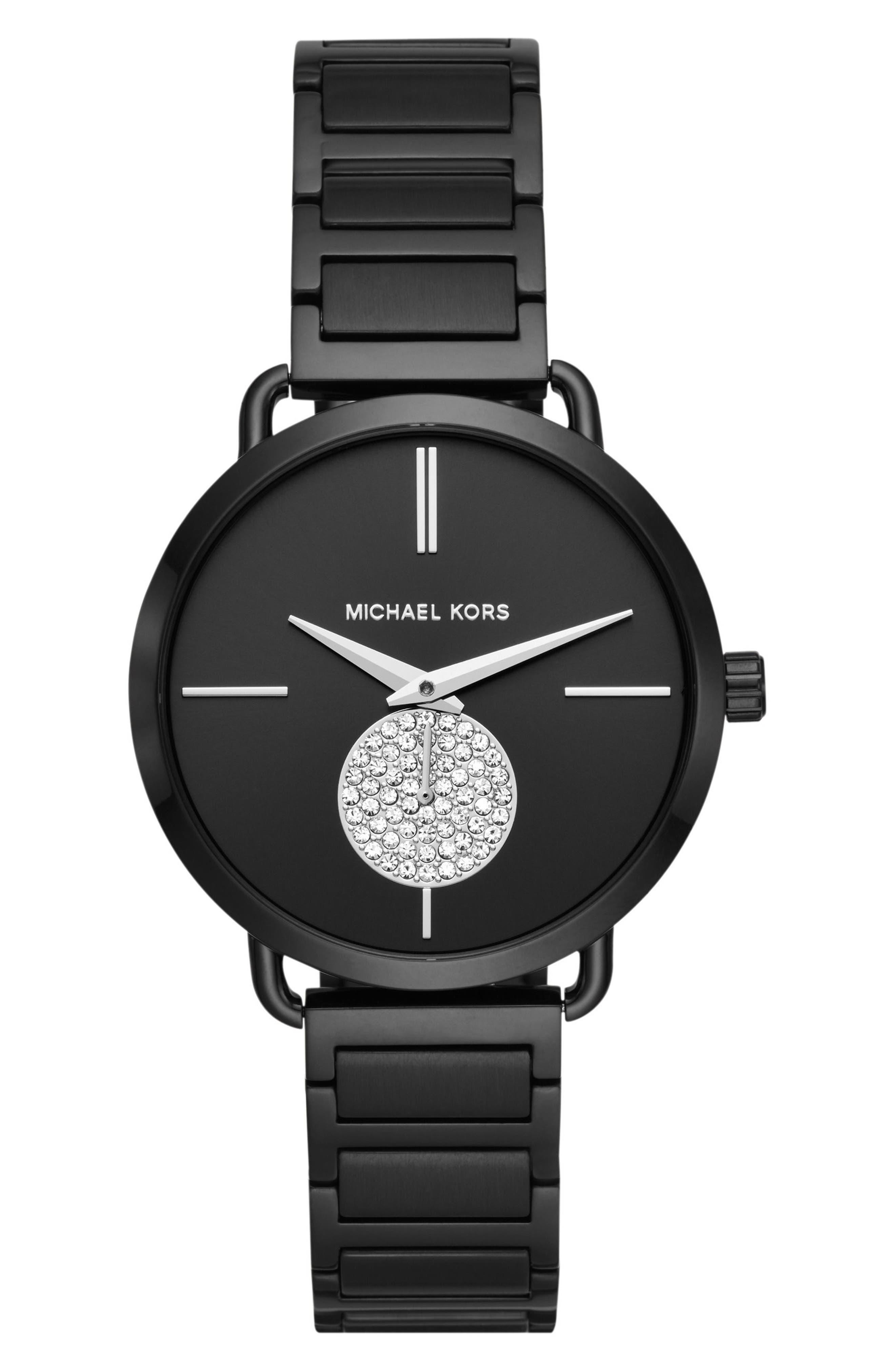 Portia Bracelet Watch, 36.5mm,                             Main thumbnail 1, color,                             001