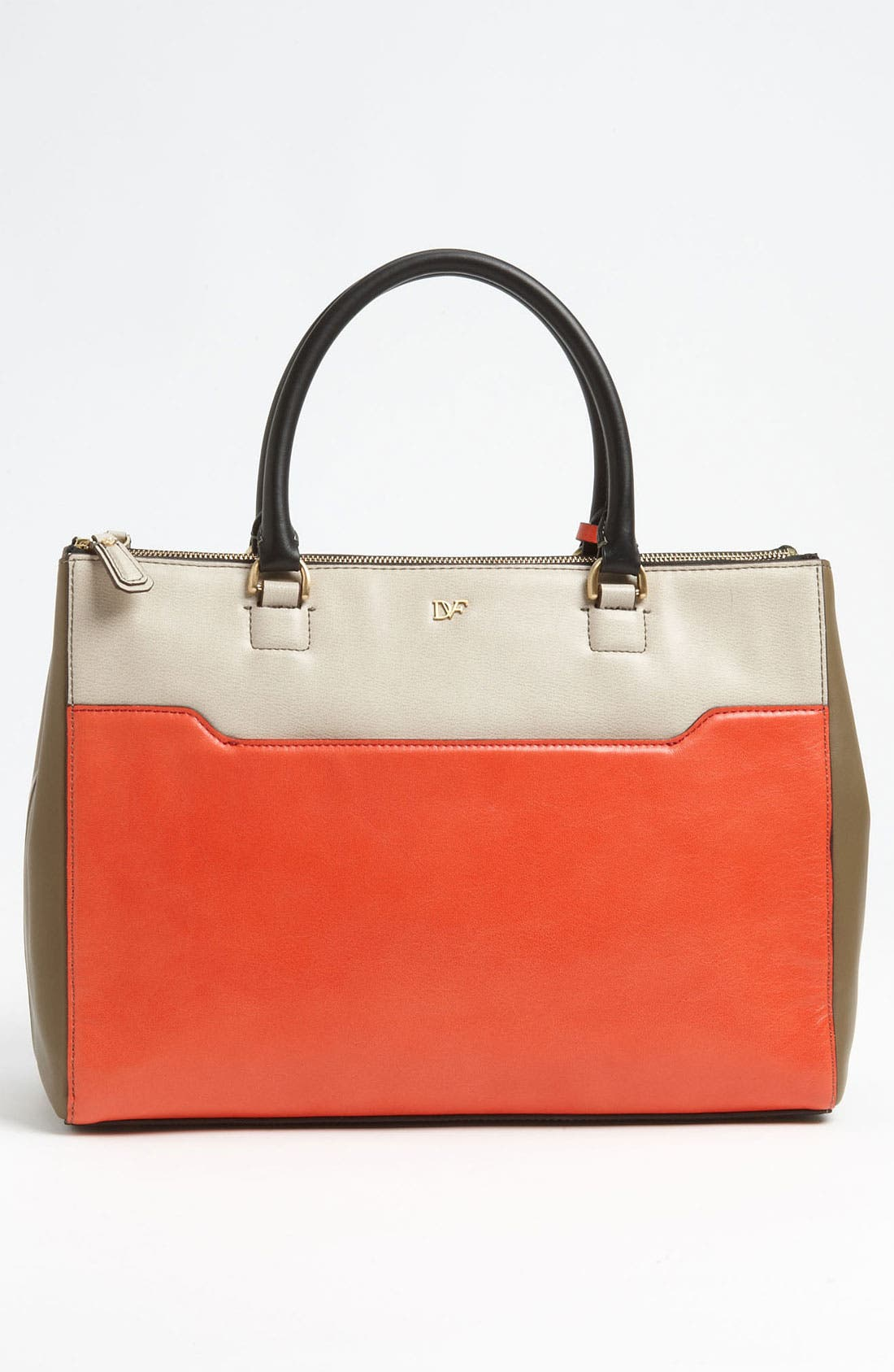 'Eva' Colorblock Tote,                             Alternate thumbnail 3, color,                             251