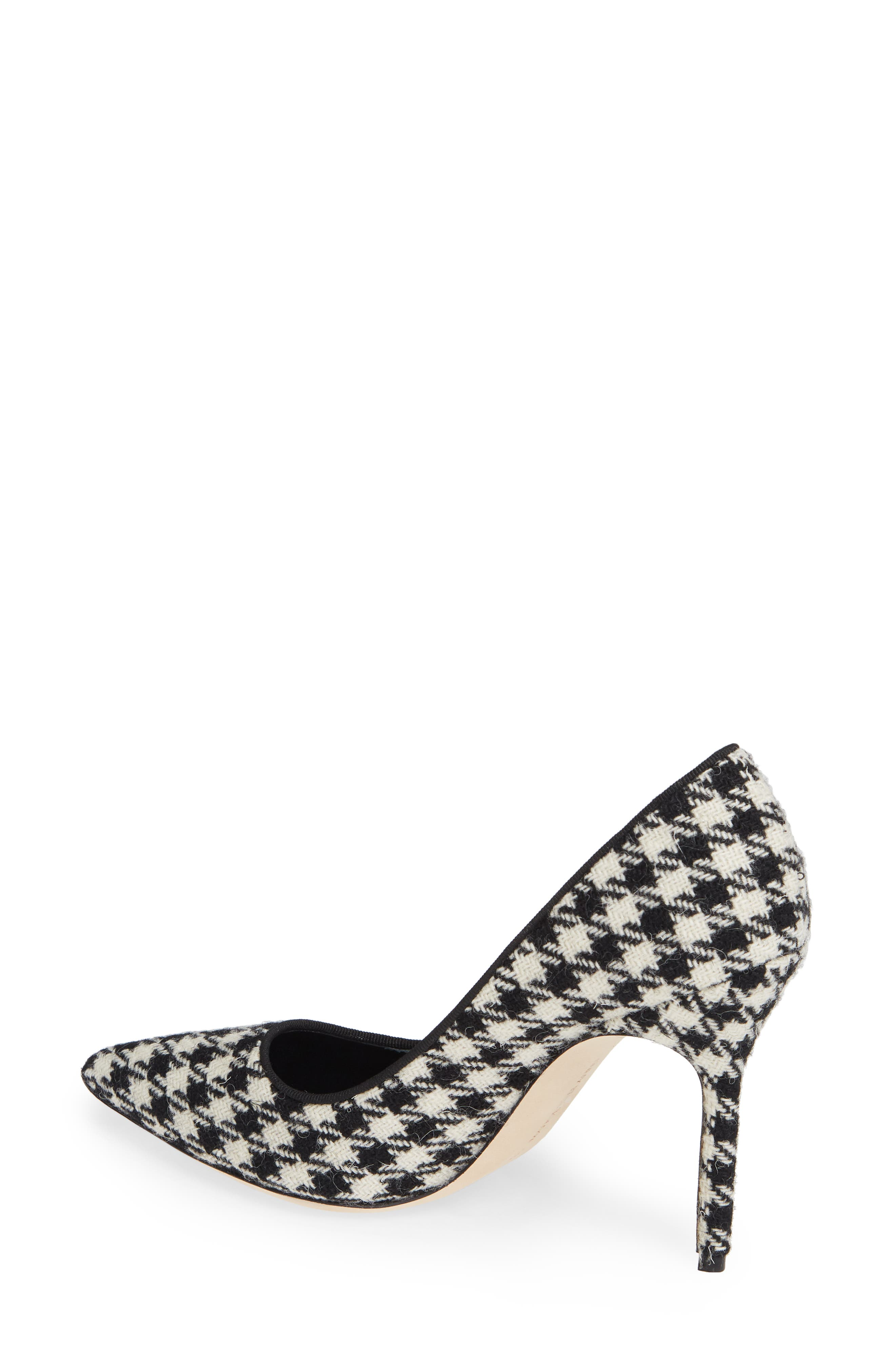 BB Pointy Toe Pump,                             Alternate thumbnail 2, color,                             HOUNDSTOOTH