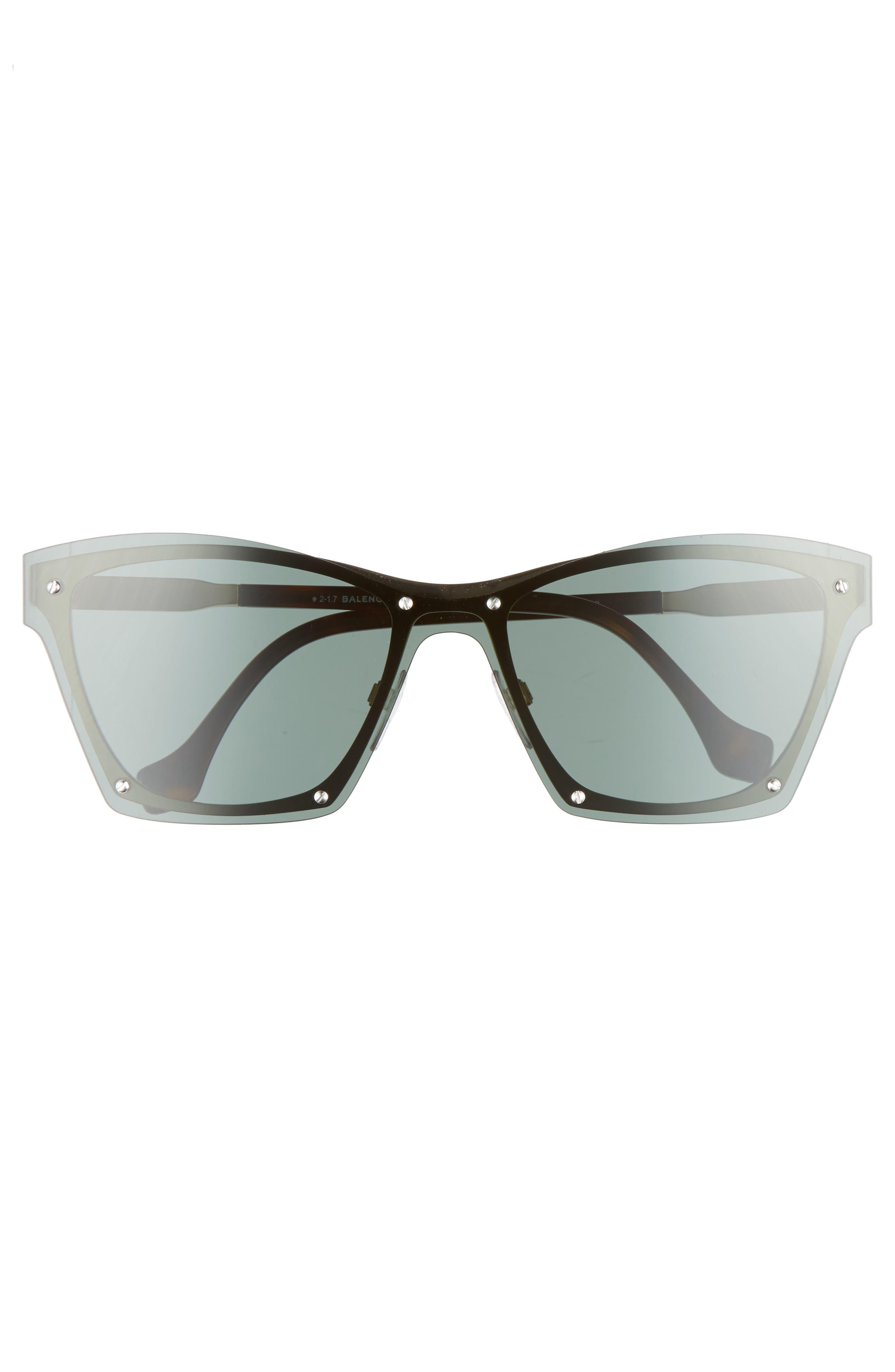 55mm Frameless Sunglasses,                             Alternate thumbnail 9, color,
