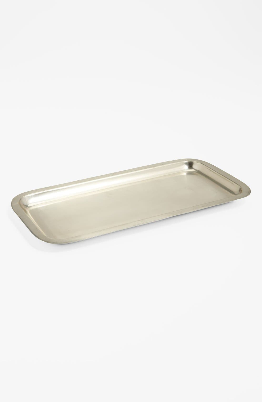 Studio 'Wallingford' Tray,                             Main thumbnail 1, color,                             NICKEL
