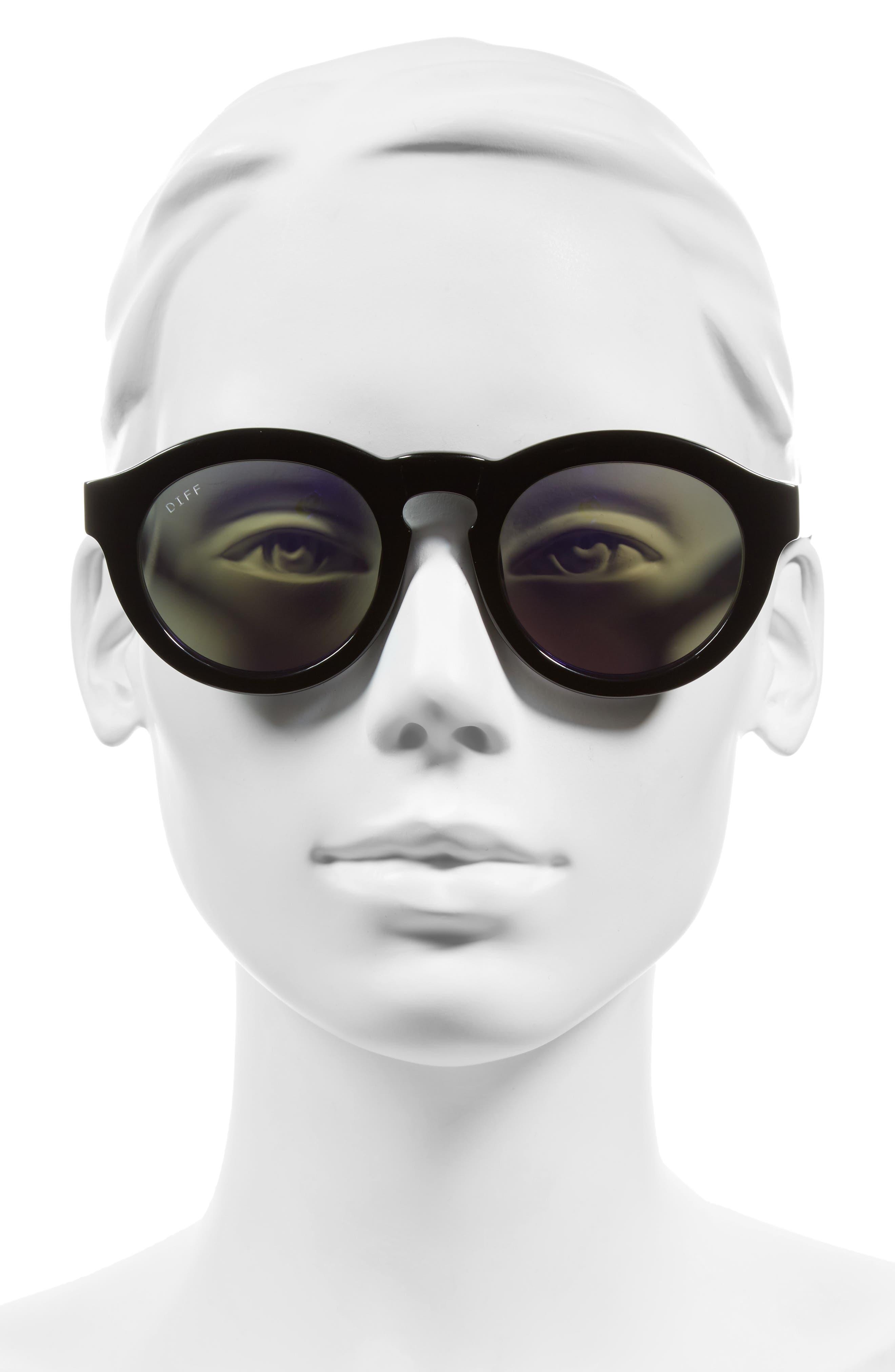 Dime 48mm Retro Sunglasses,                             Alternate thumbnail 27, color,