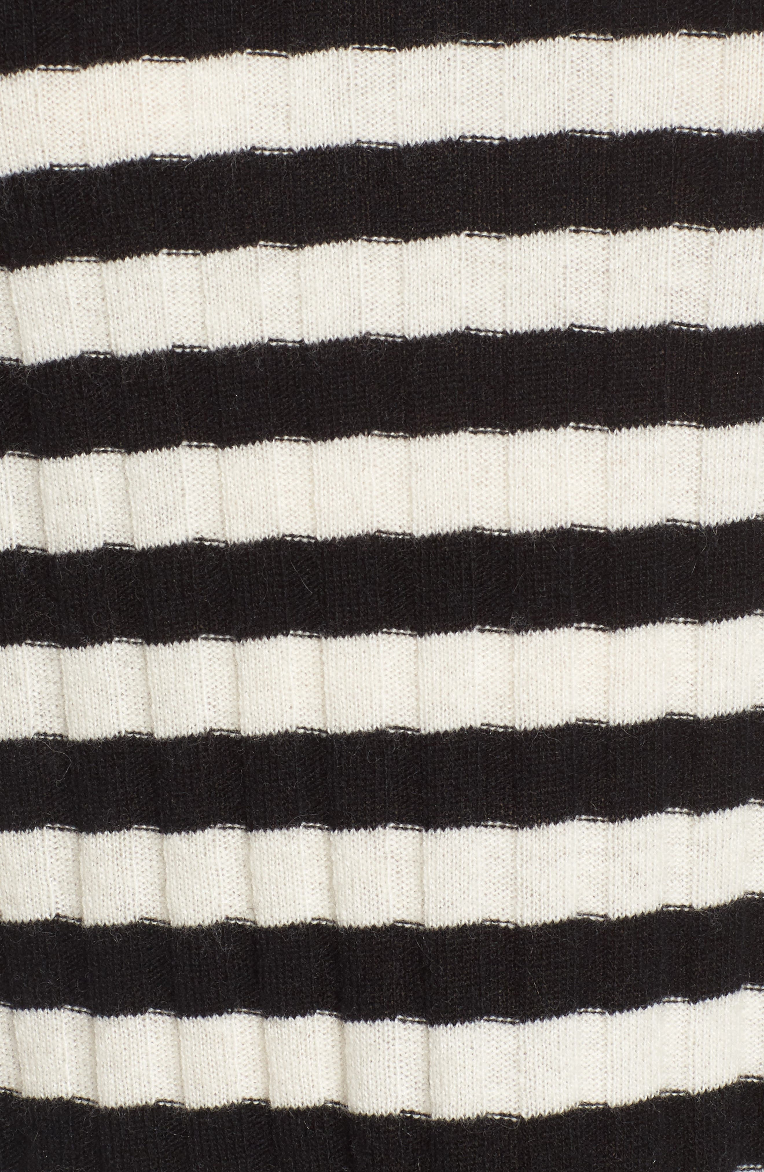 Destroyed Stripe Sweater,                             Alternate thumbnail 5, color,                             004