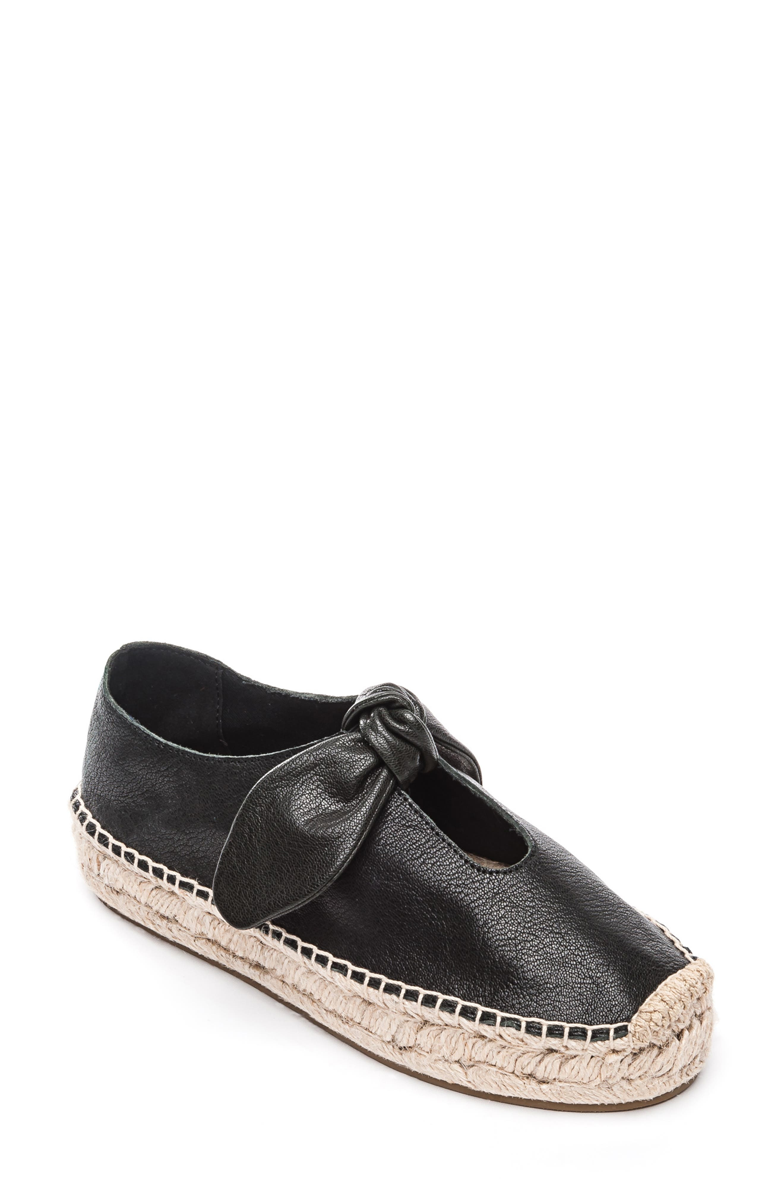 Bernardo Bow Espadrille Slip-On, Black