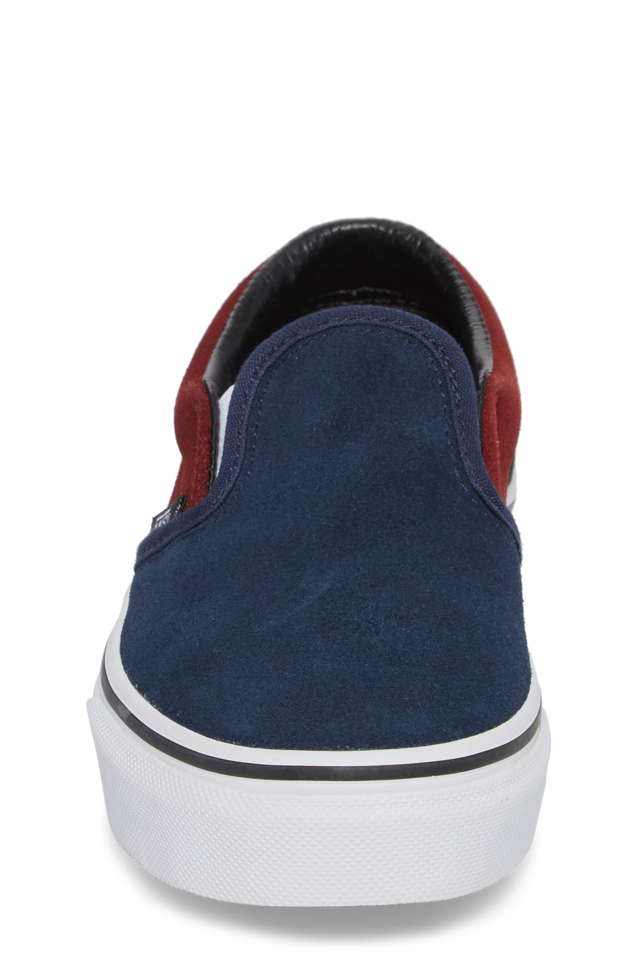 Classic Slip-On Sneaker,                             Alternate thumbnail 4, color,                             401