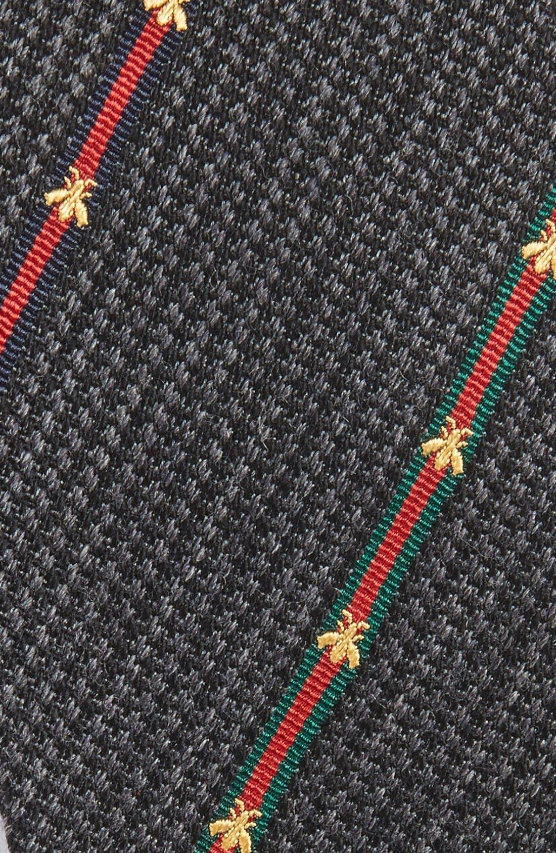 Savanur Silk & Wool Tie,                             Alternate thumbnail 3, color,                             003