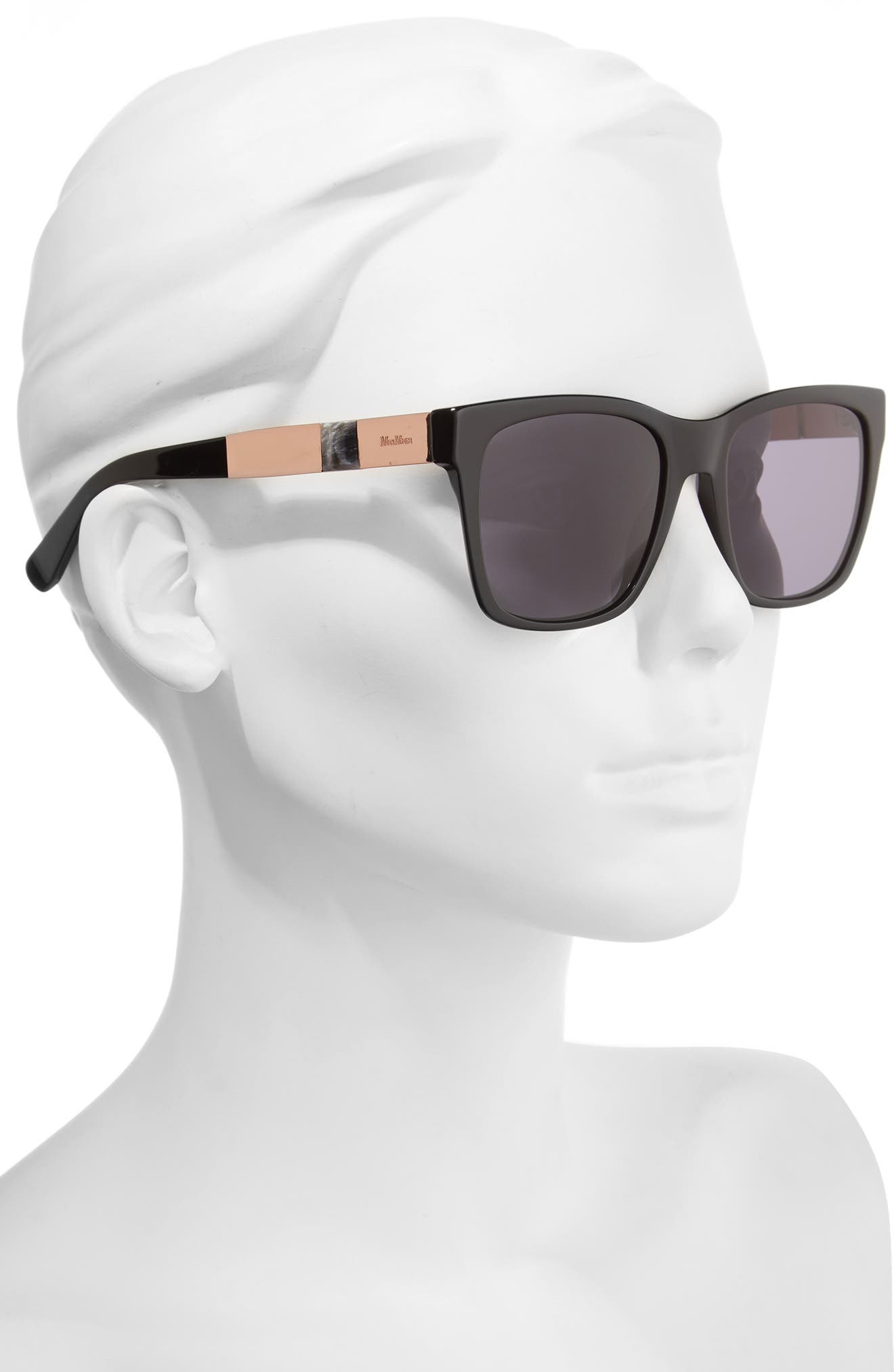 Stone 54mm Gradient Sunglasses,                             Alternate thumbnail 2, color,                             001