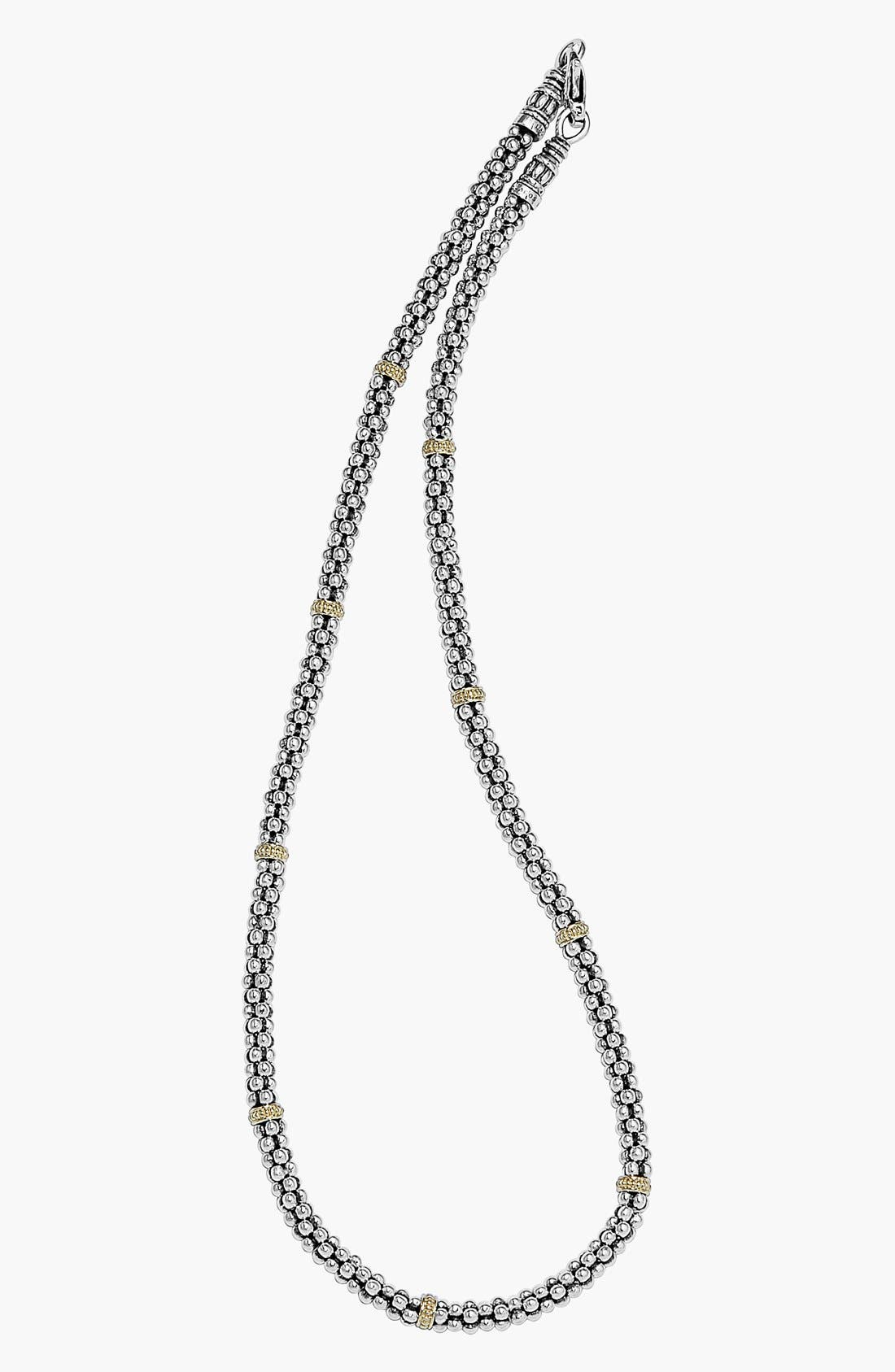 Mini Caviar<sup>™</sup> Rope Necklace,                             Alternate thumbnail 6, color,                             040