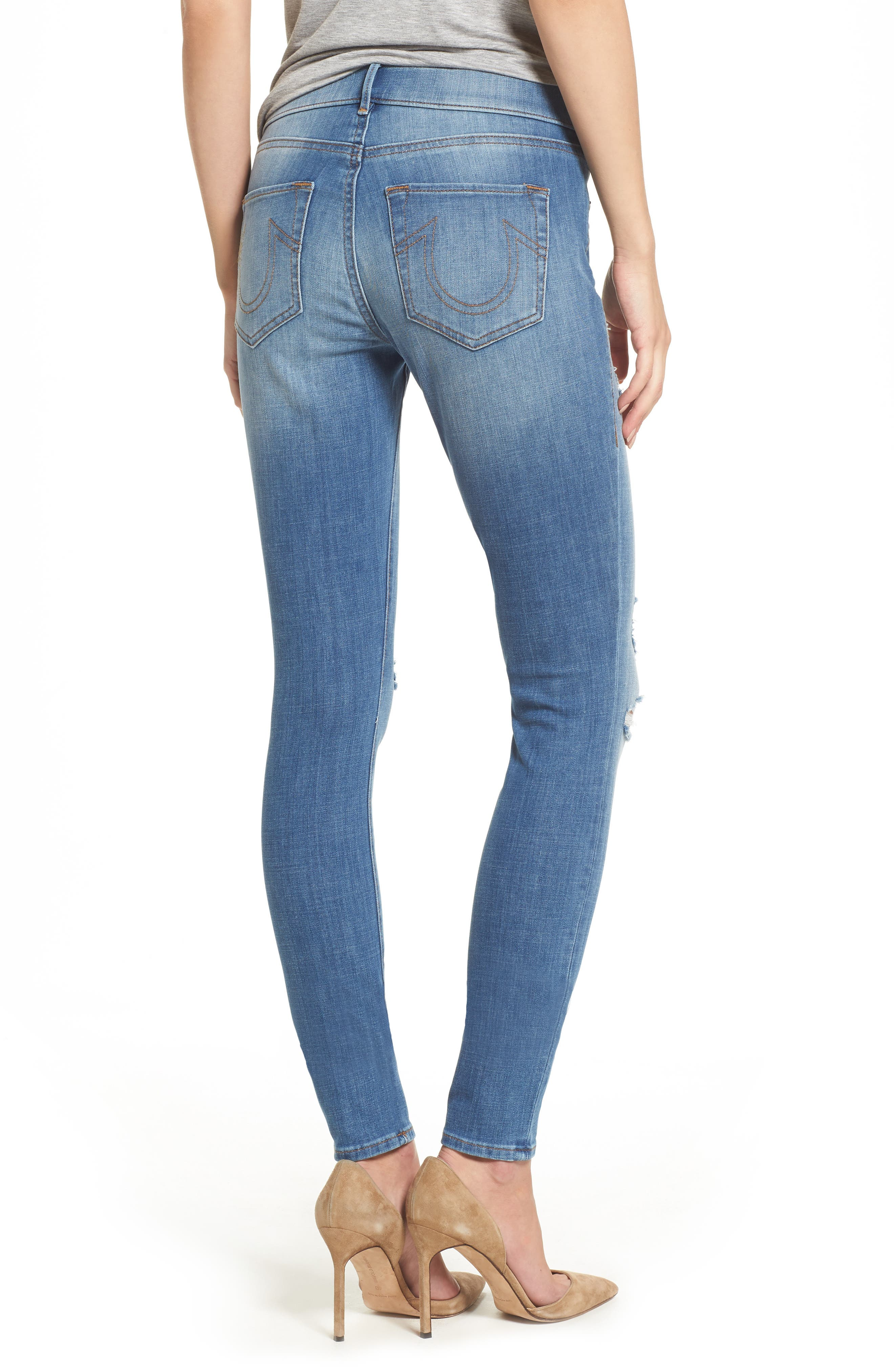 Jennie Runway Curvy Skinny Jeans,                             Alternate thumbnail 2, color,                             400