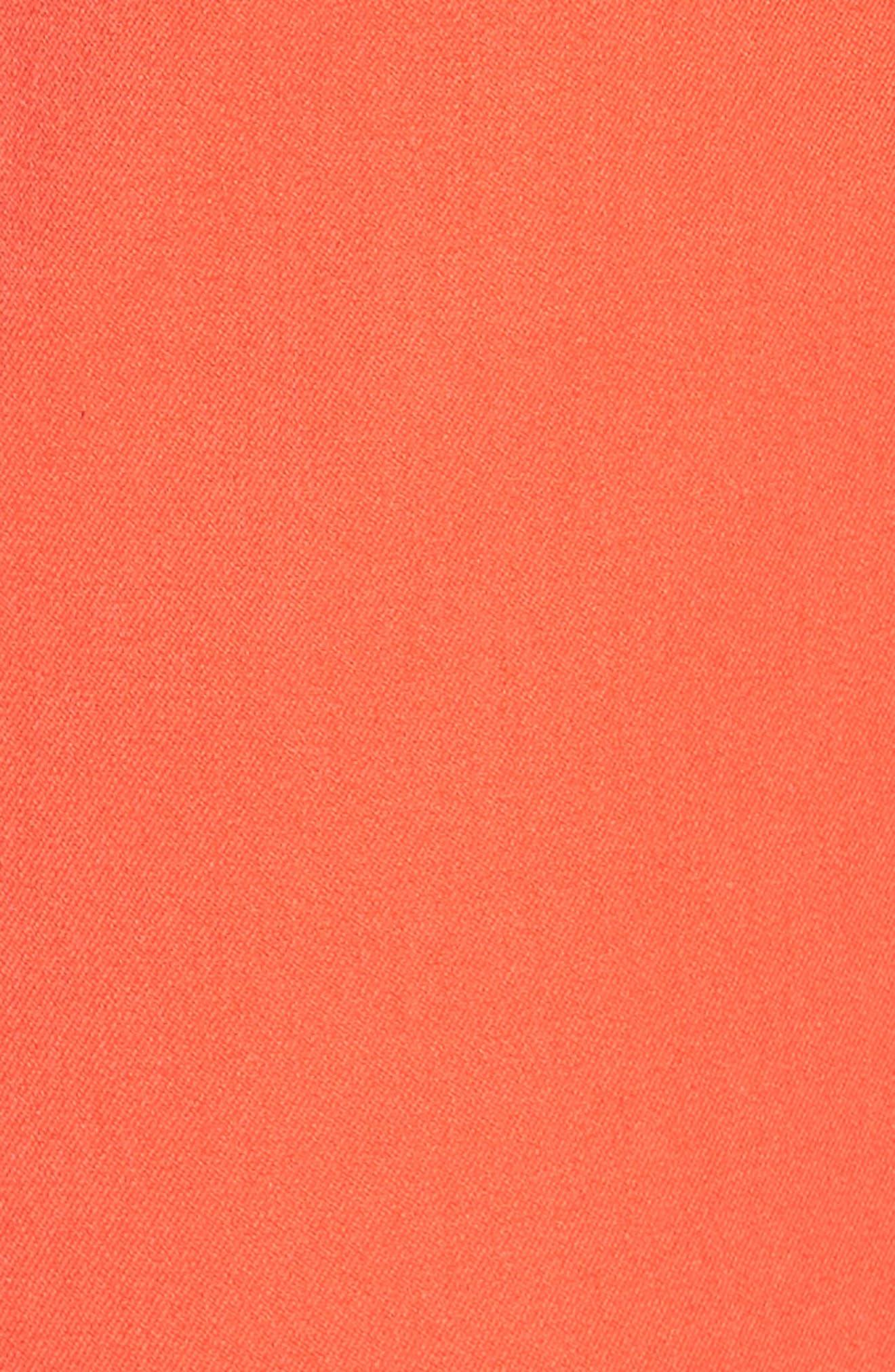 Crop Stretch Cotton Pants,                             Alternate thumbnail 104, color,