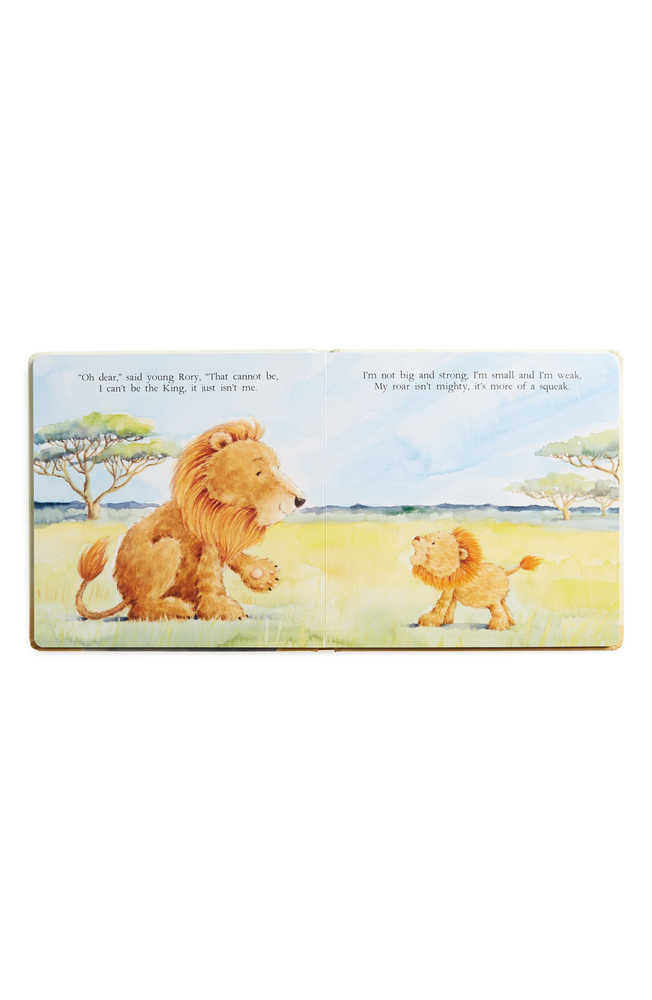 The Very Brave Lion Board Book,                             Alternate thumbnail 2, color,                             YELLOW MULTI