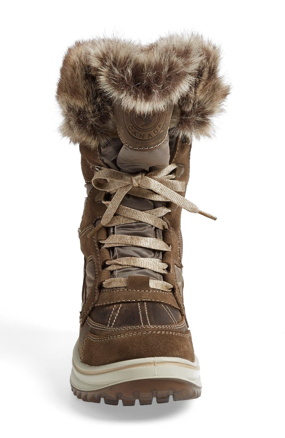 'Marta' Water Resistant Insulated Winter Boot,                             Alternate thumbnail 3, color,                             236