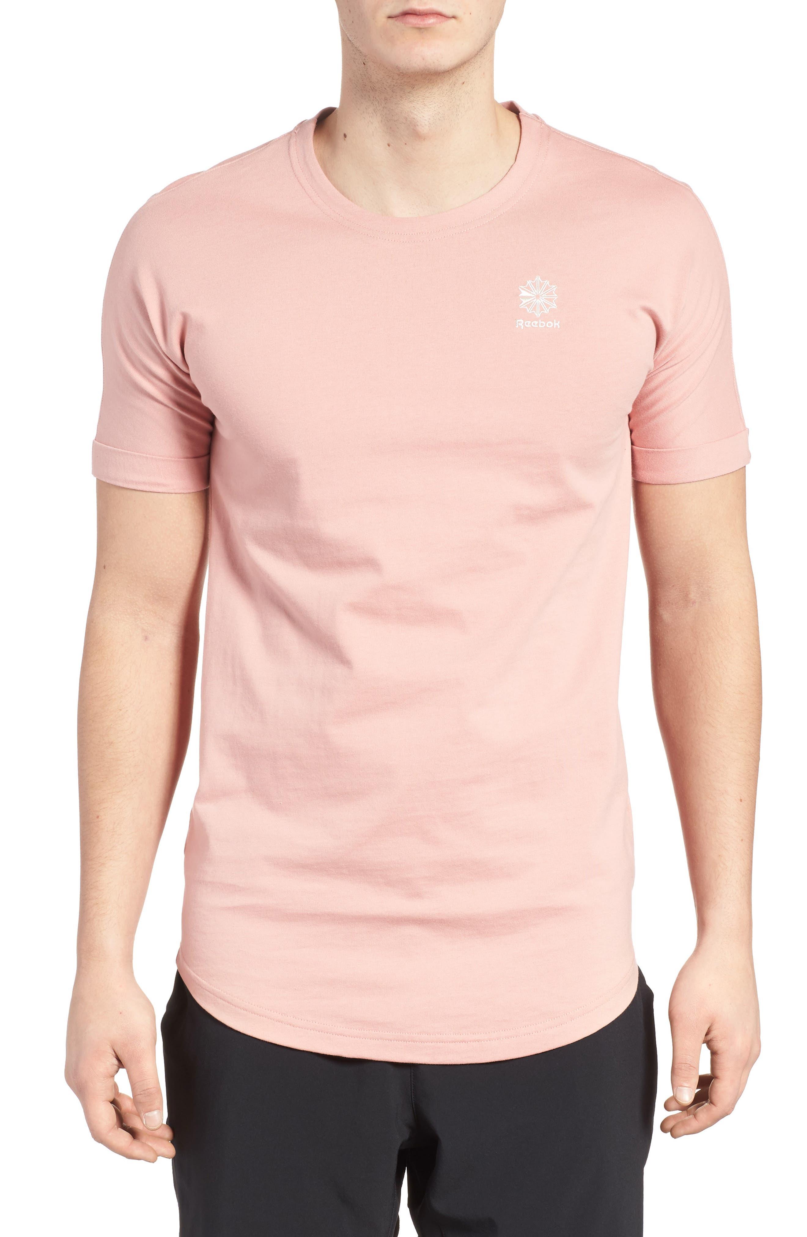 Extended Regular Crewneck T-Shirt,                             Main thumbnail 2, color,