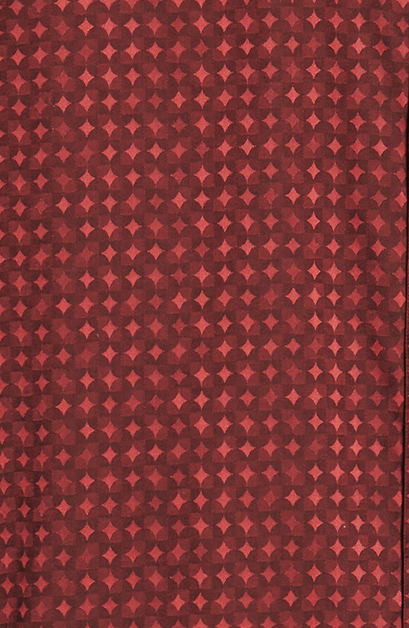 Harris Classic Fit Sport Shirt,                             Alternate thumbnail 6, color,                             BURGUNDY