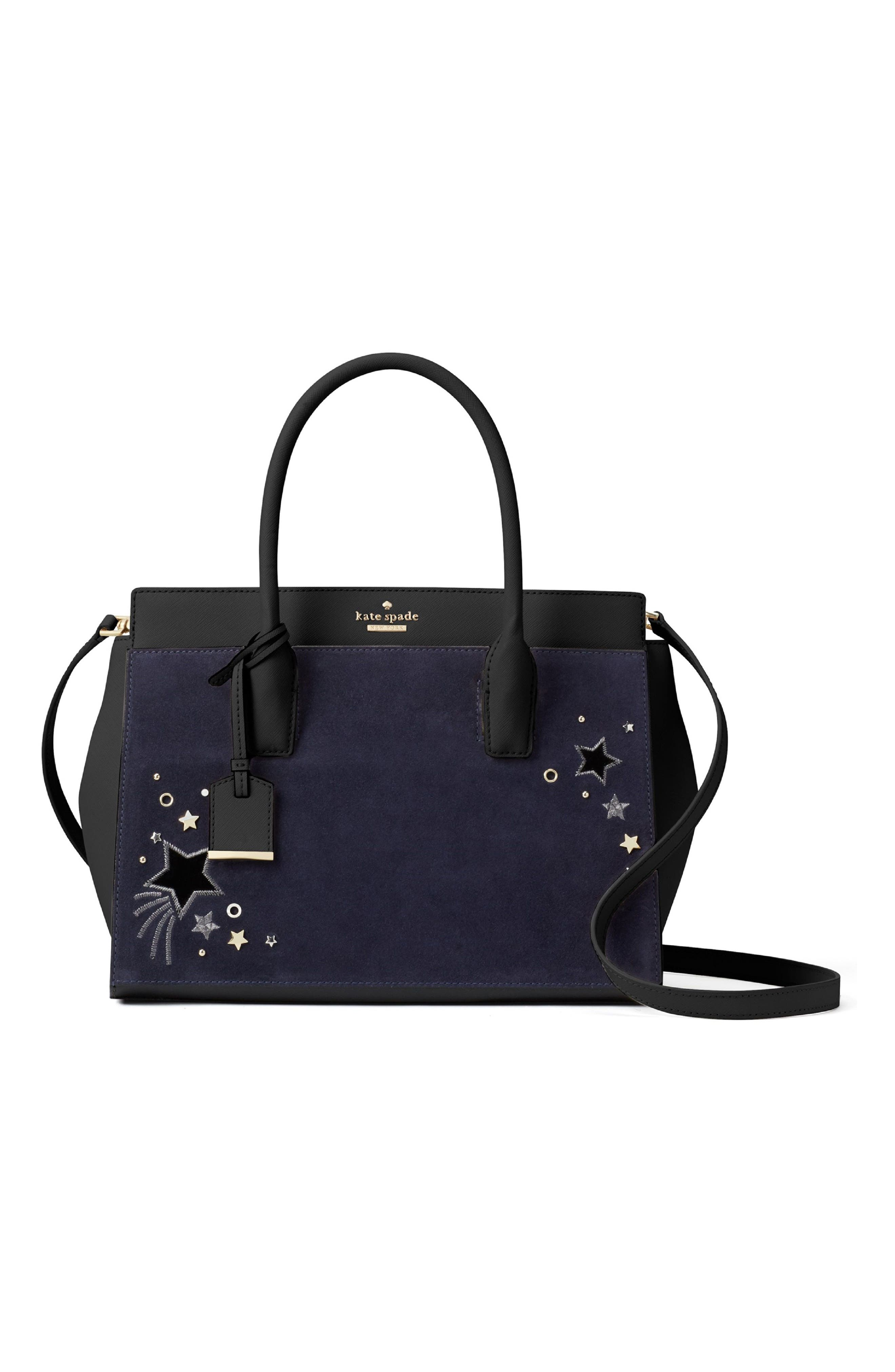 make it mine star embellished leather snap-on accent flap,                             Alternate thumbnail 4, color,                             400