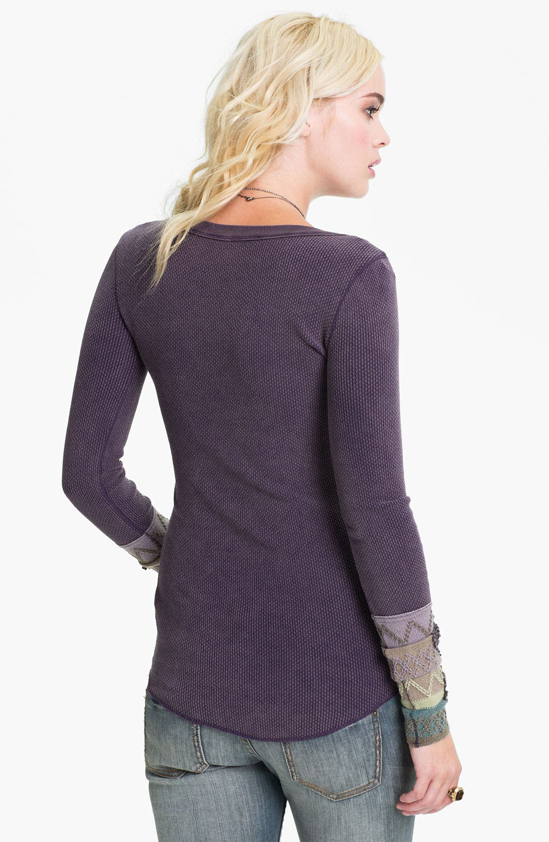 'Kombucha' Embroidered Thermal Top,                             Alternate thumbnail 2, color,                             518