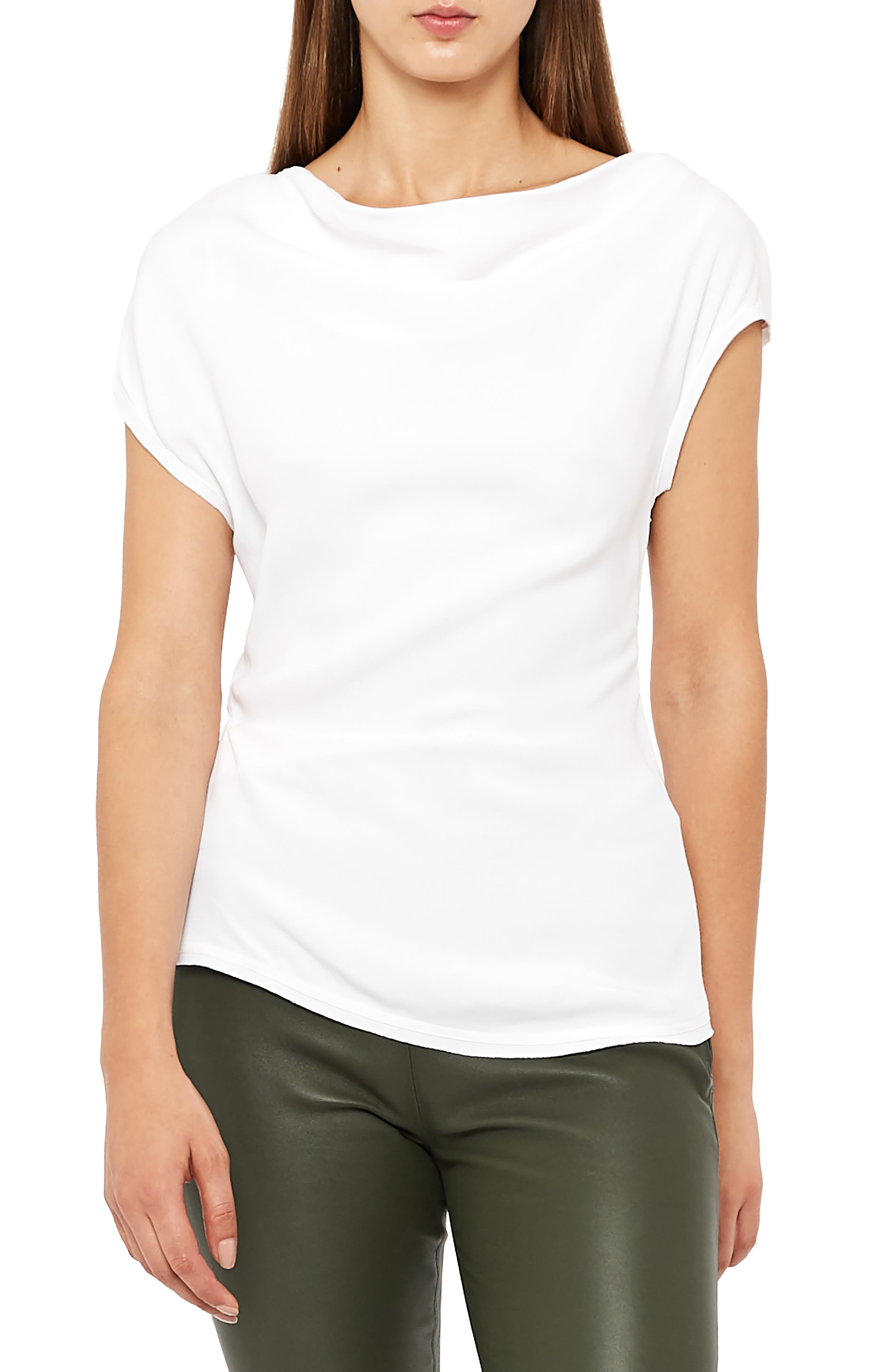 Miren Batwing Sleeve Top,                         Main,                         color, OFF WHITE